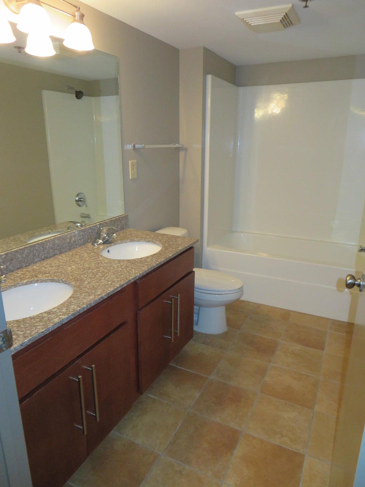 Hall Bath w/ Double Vanity