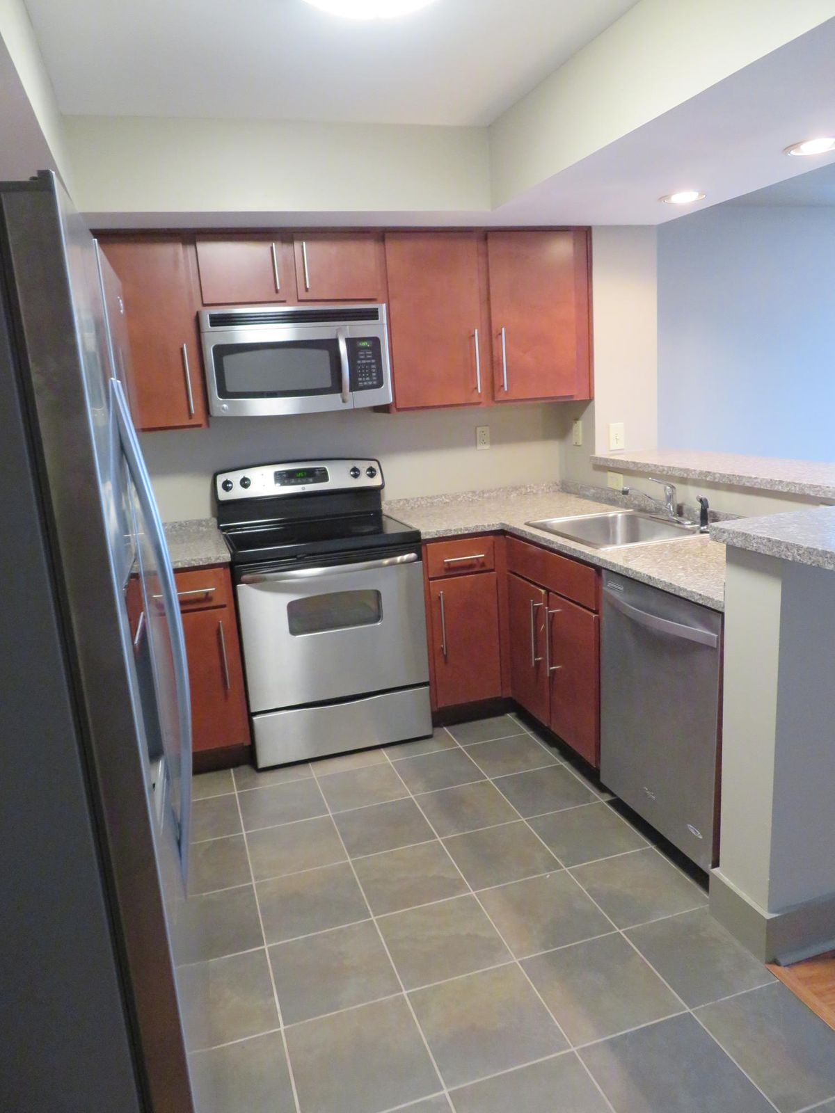Kitchen w/ All Stainless Appliances