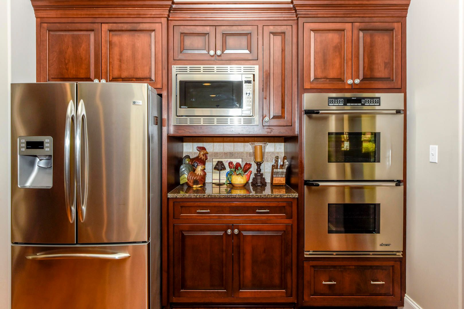 Stainles Dacor appliances