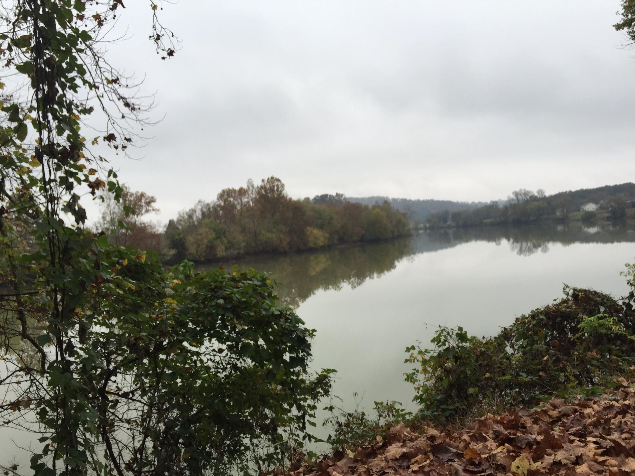 Nearby French Broad River