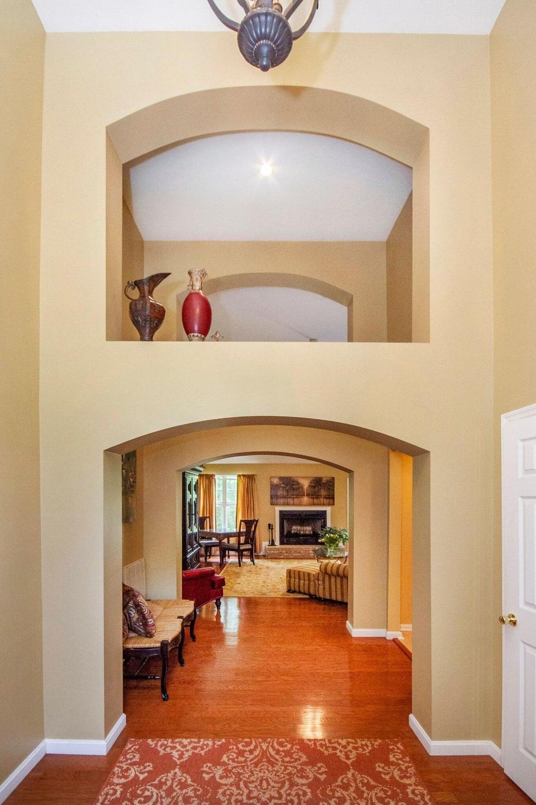 Lofty entryway