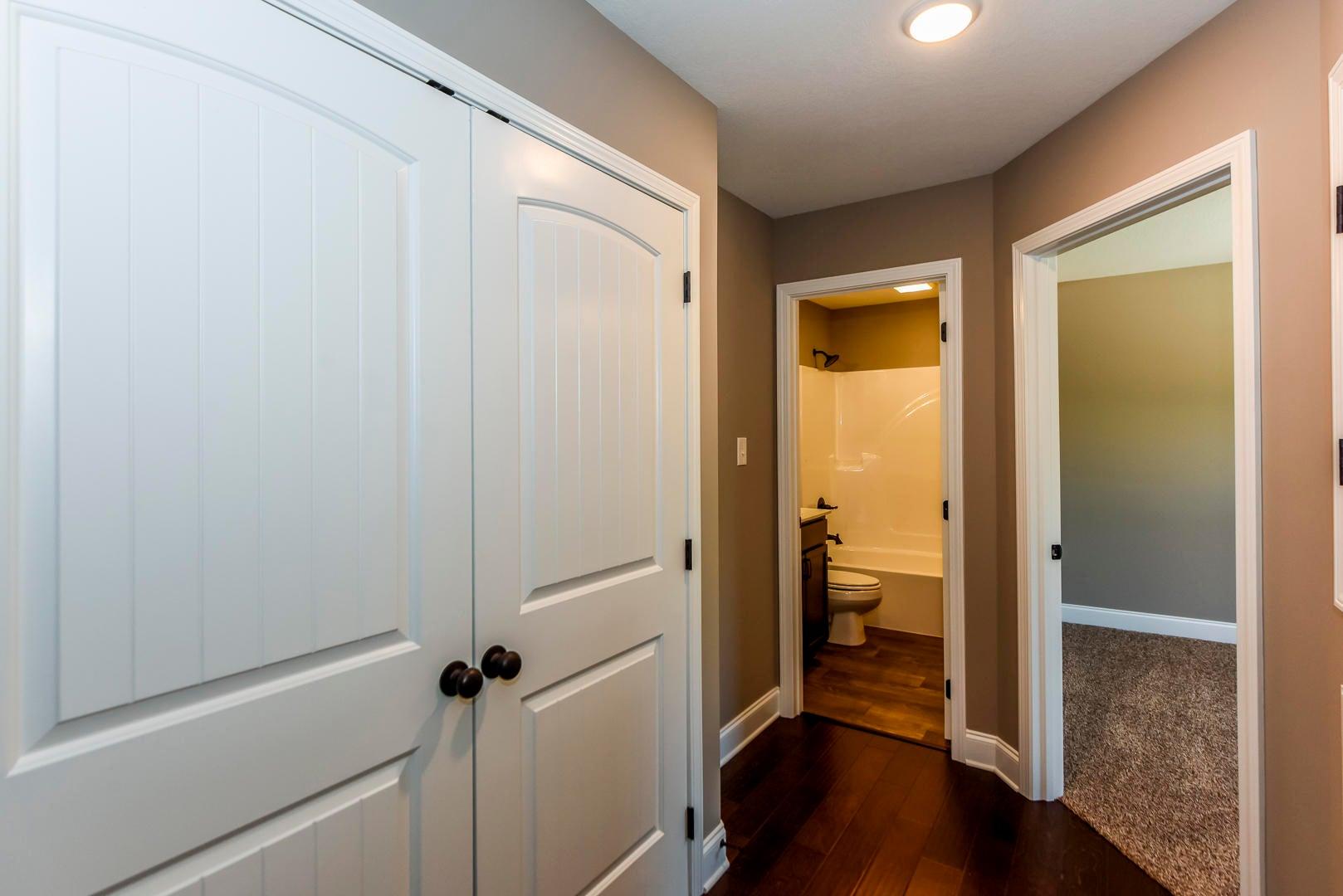 Hallway/laundry upstairs