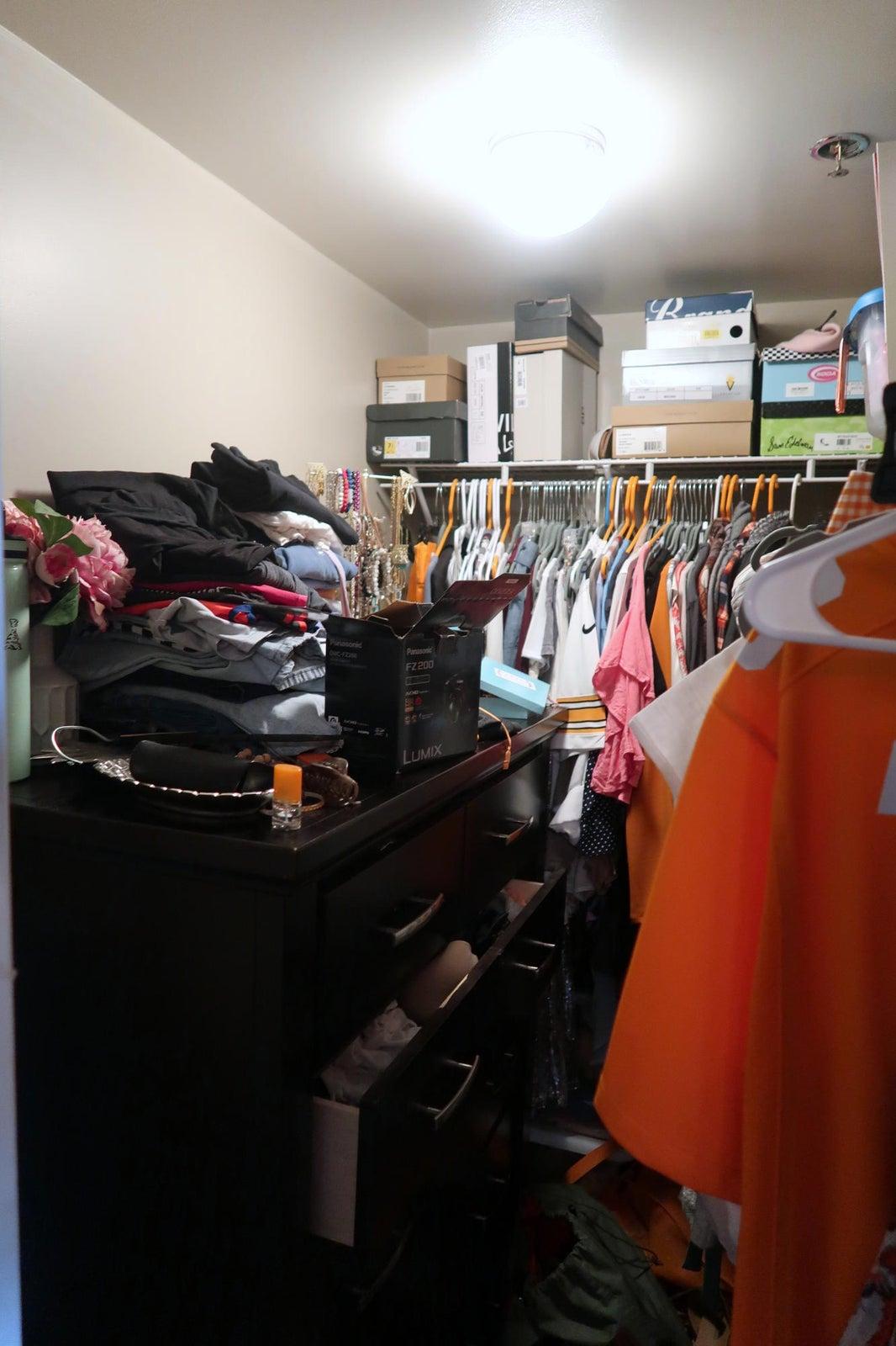 Front LT BD-Huge Closet!