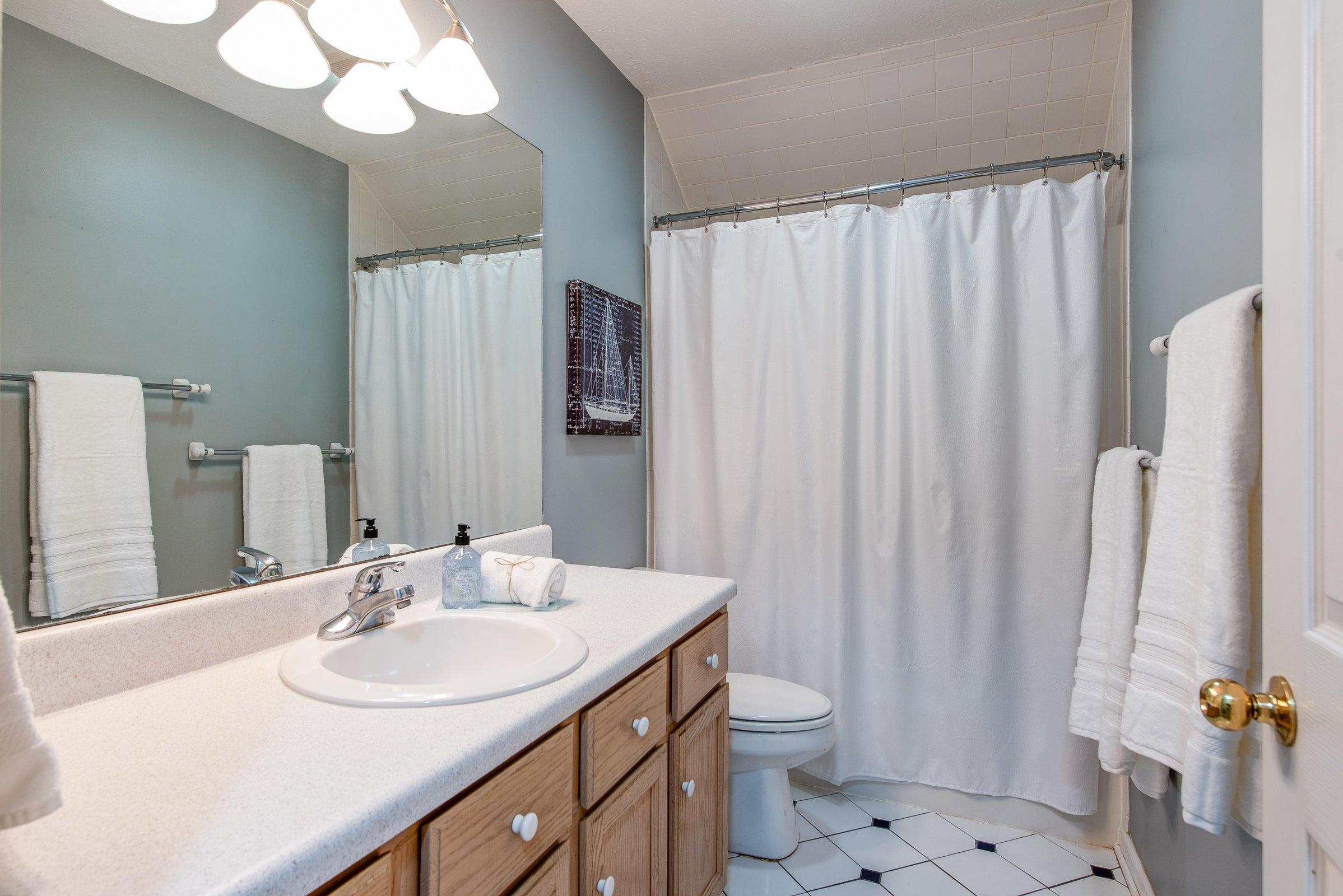 2nd floor - full bath 1