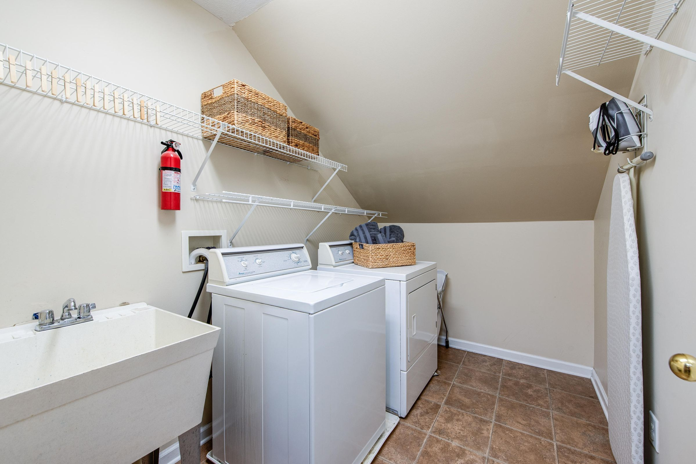 2nd floor - laundry room