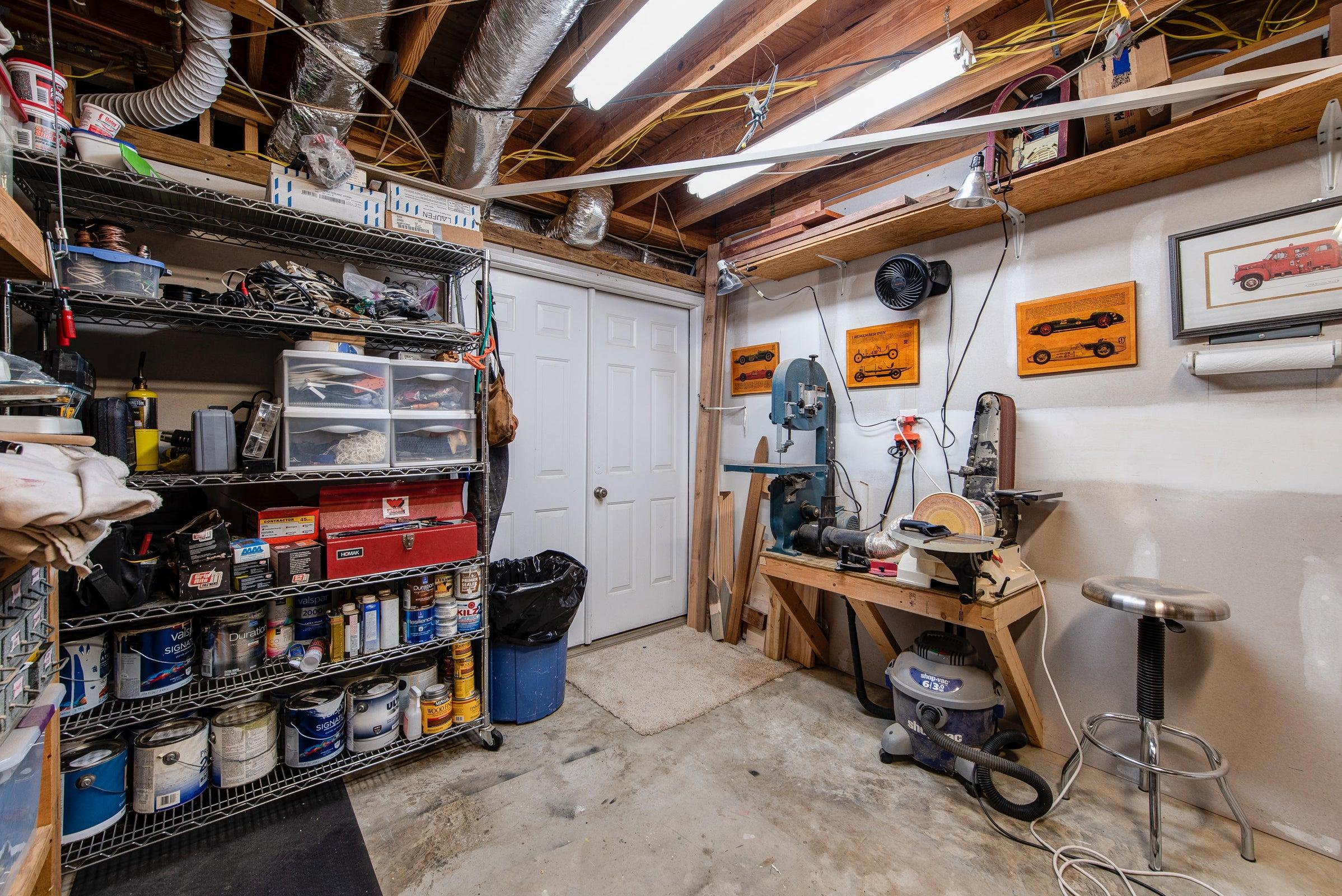 basement - enclosed workshop