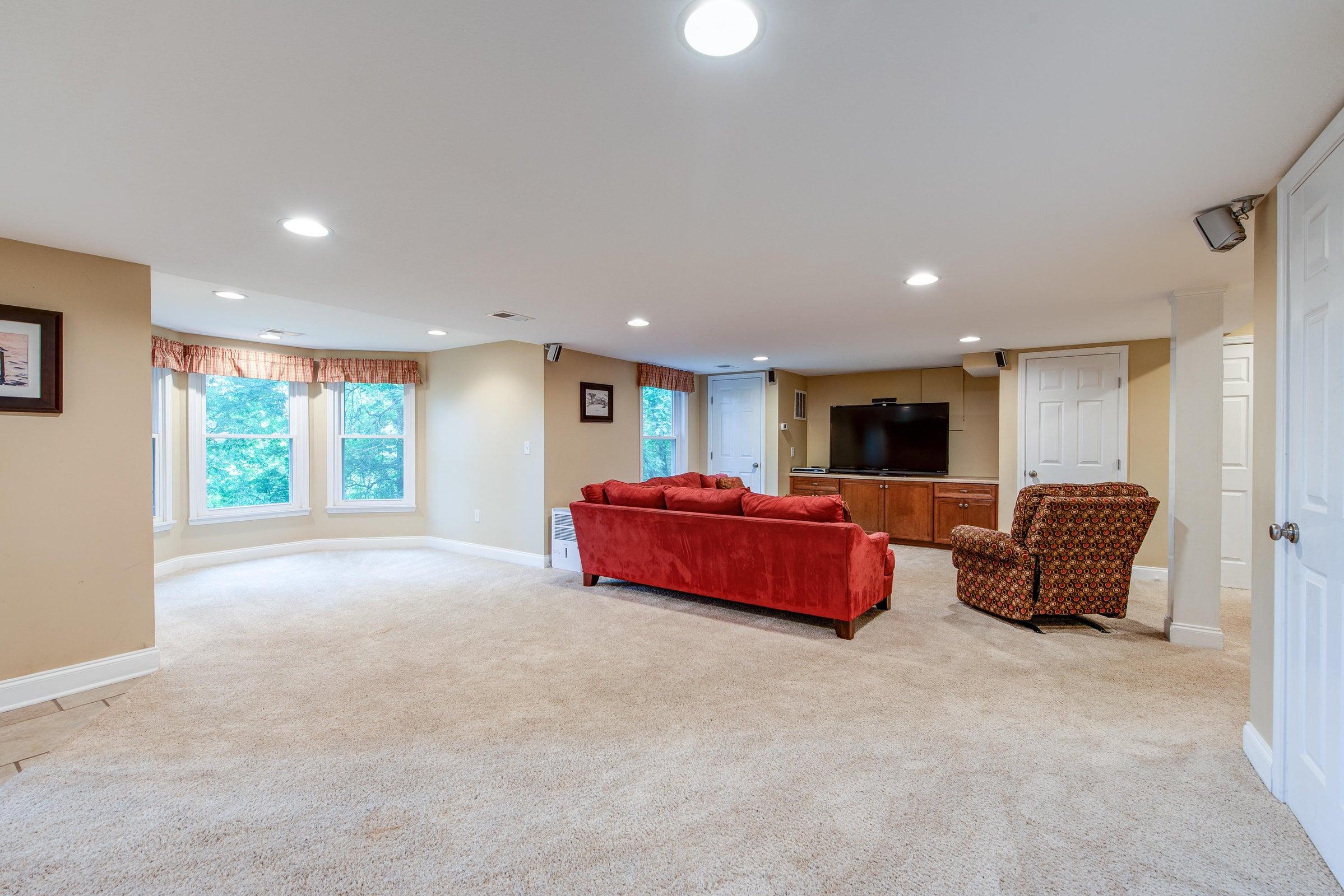 basement - looking southwest