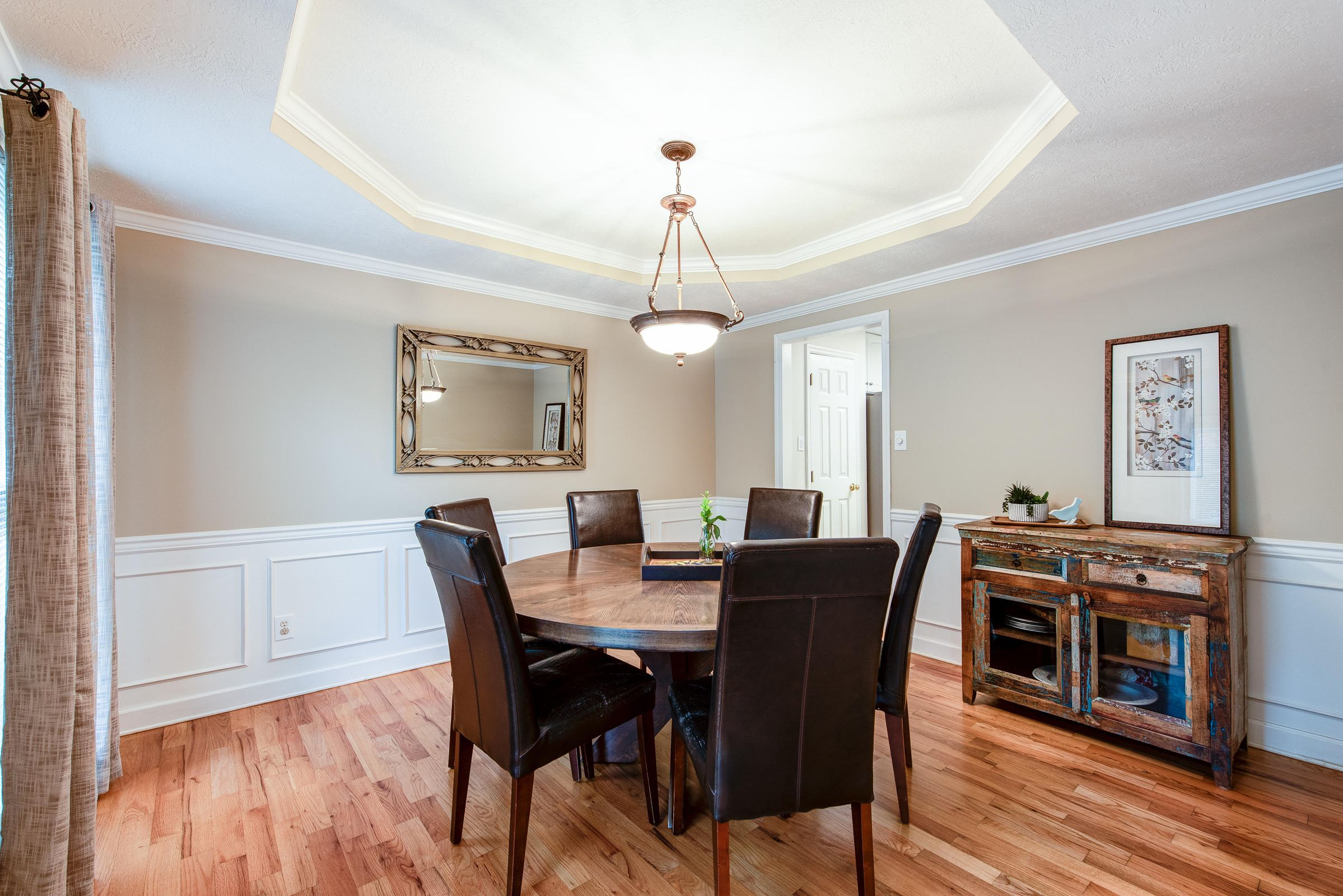 main floor - dining room