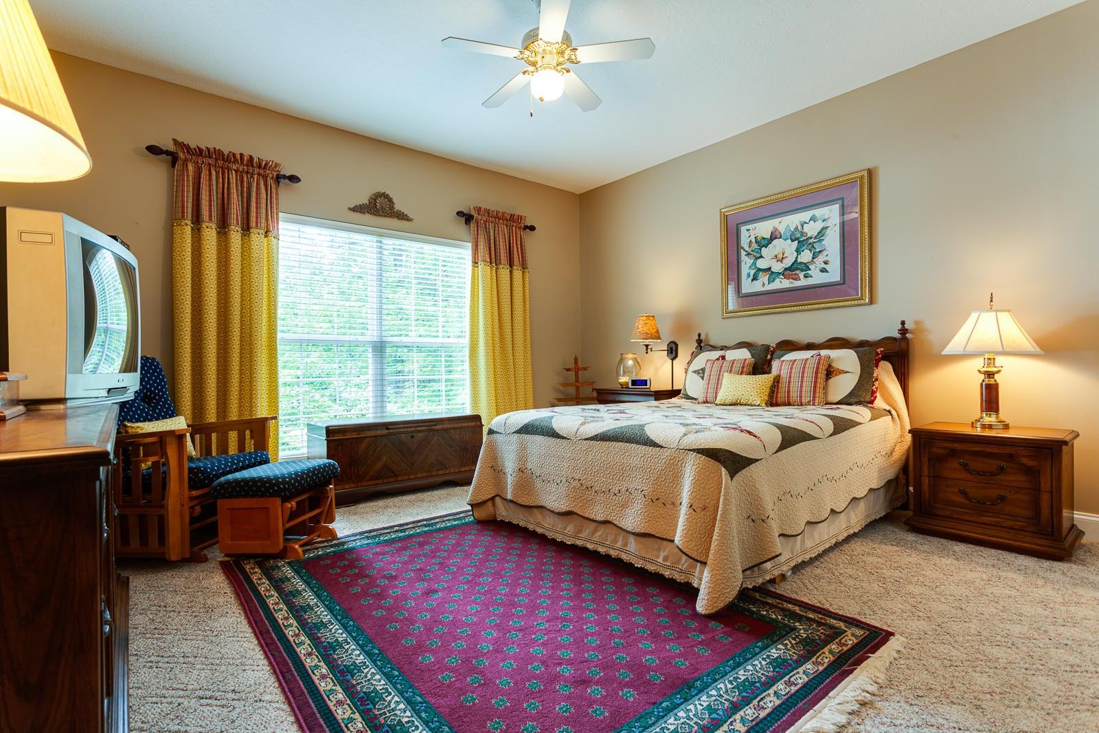 Guest Bedroom 2 w/ Lake Views