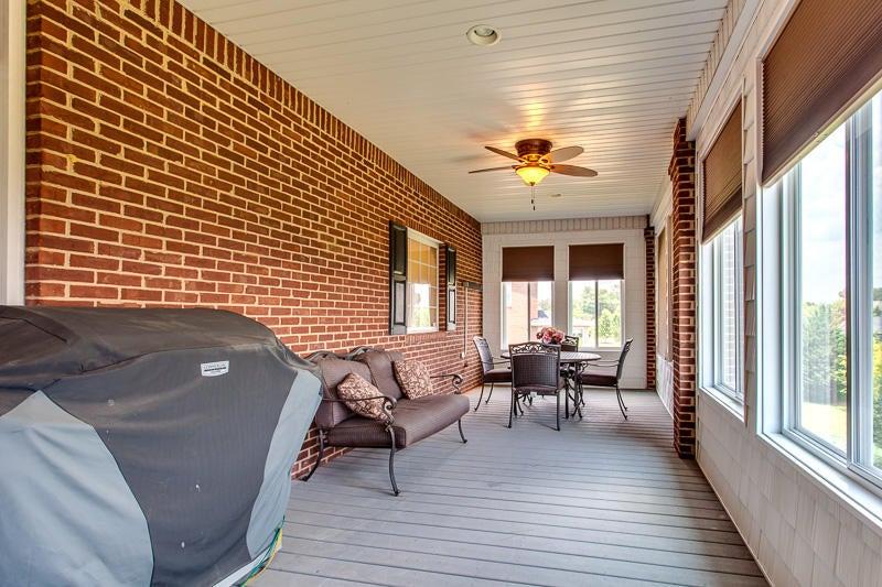 Enclosed Upper Back Porch