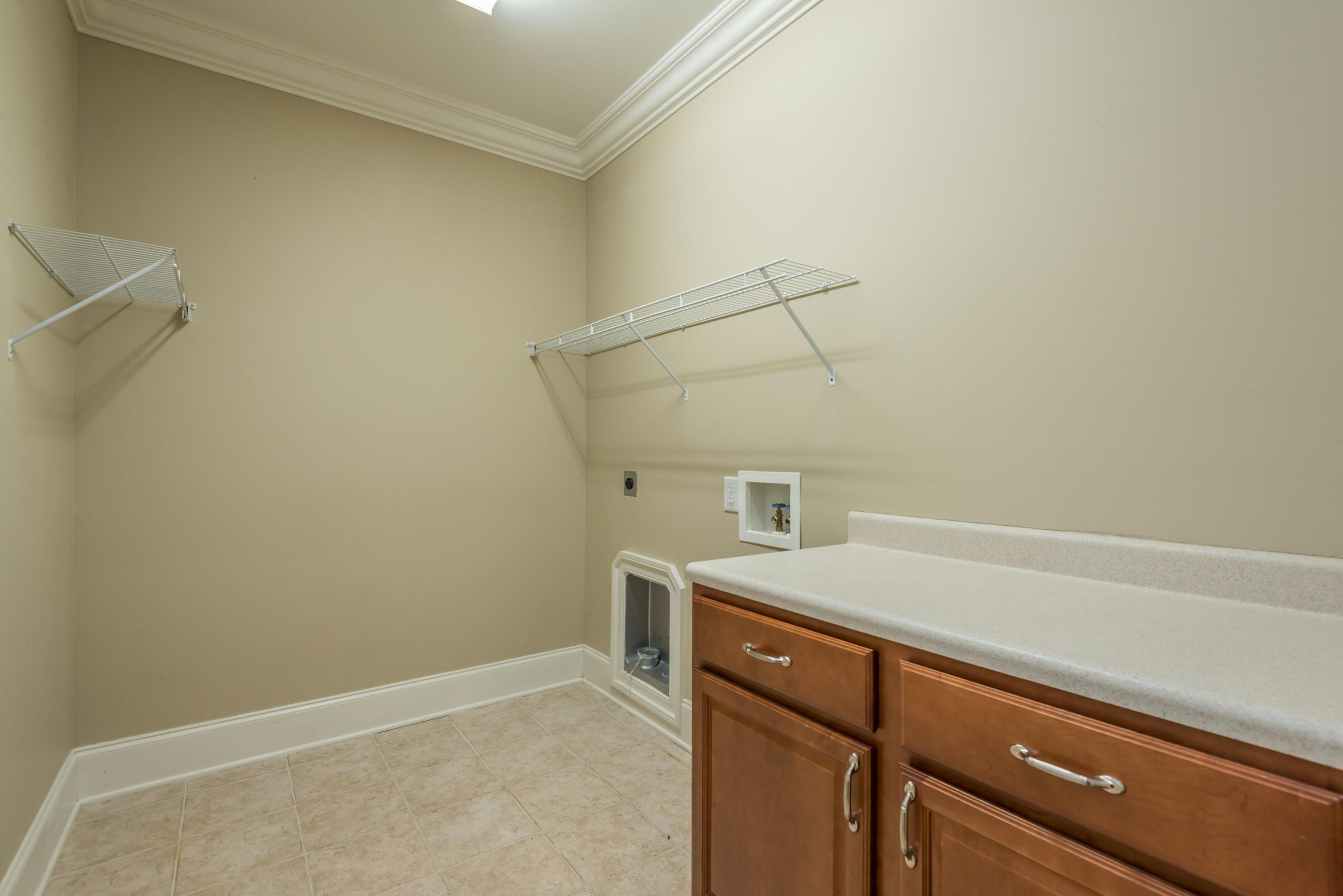 Walk-In Laundry on Main Level