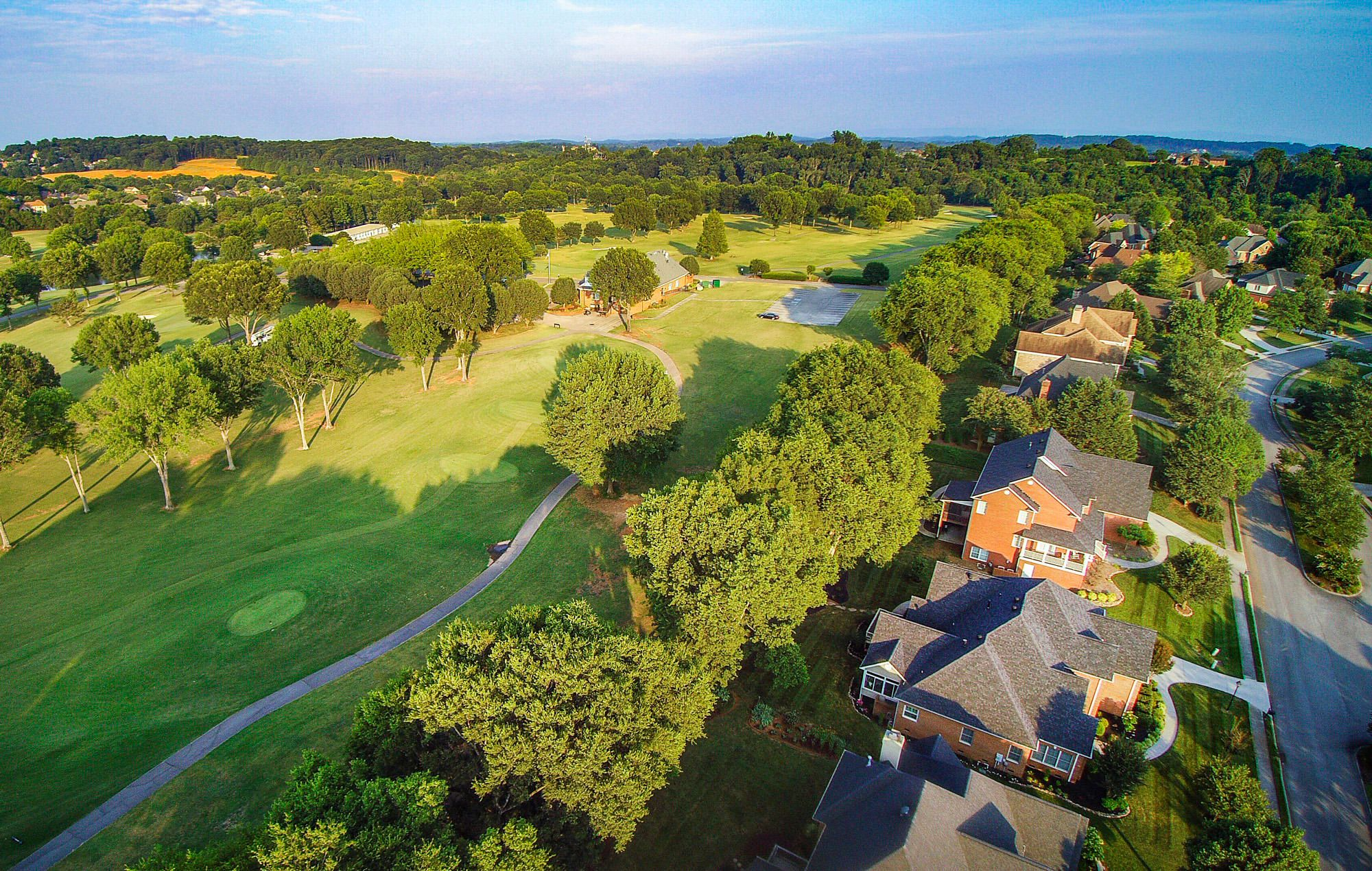 Sweeping Golf Course Views