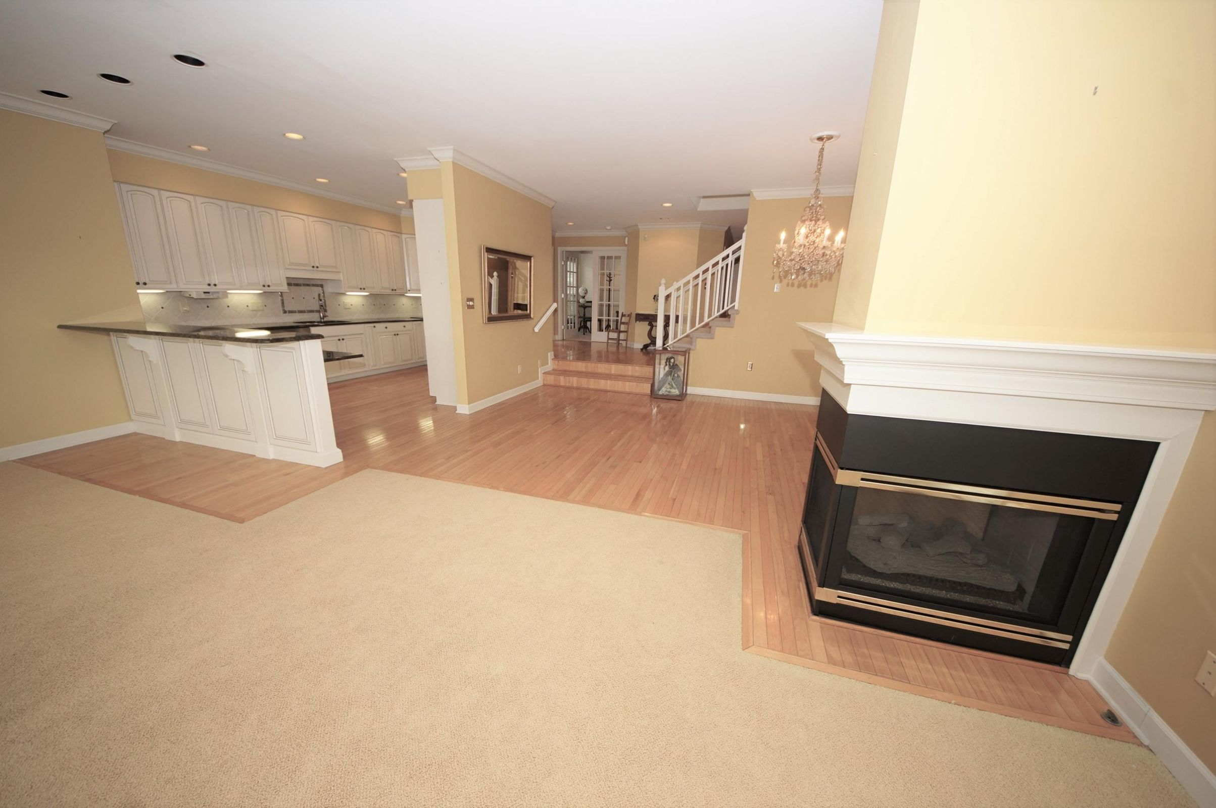 Great Rm to Dining-Kitchen view