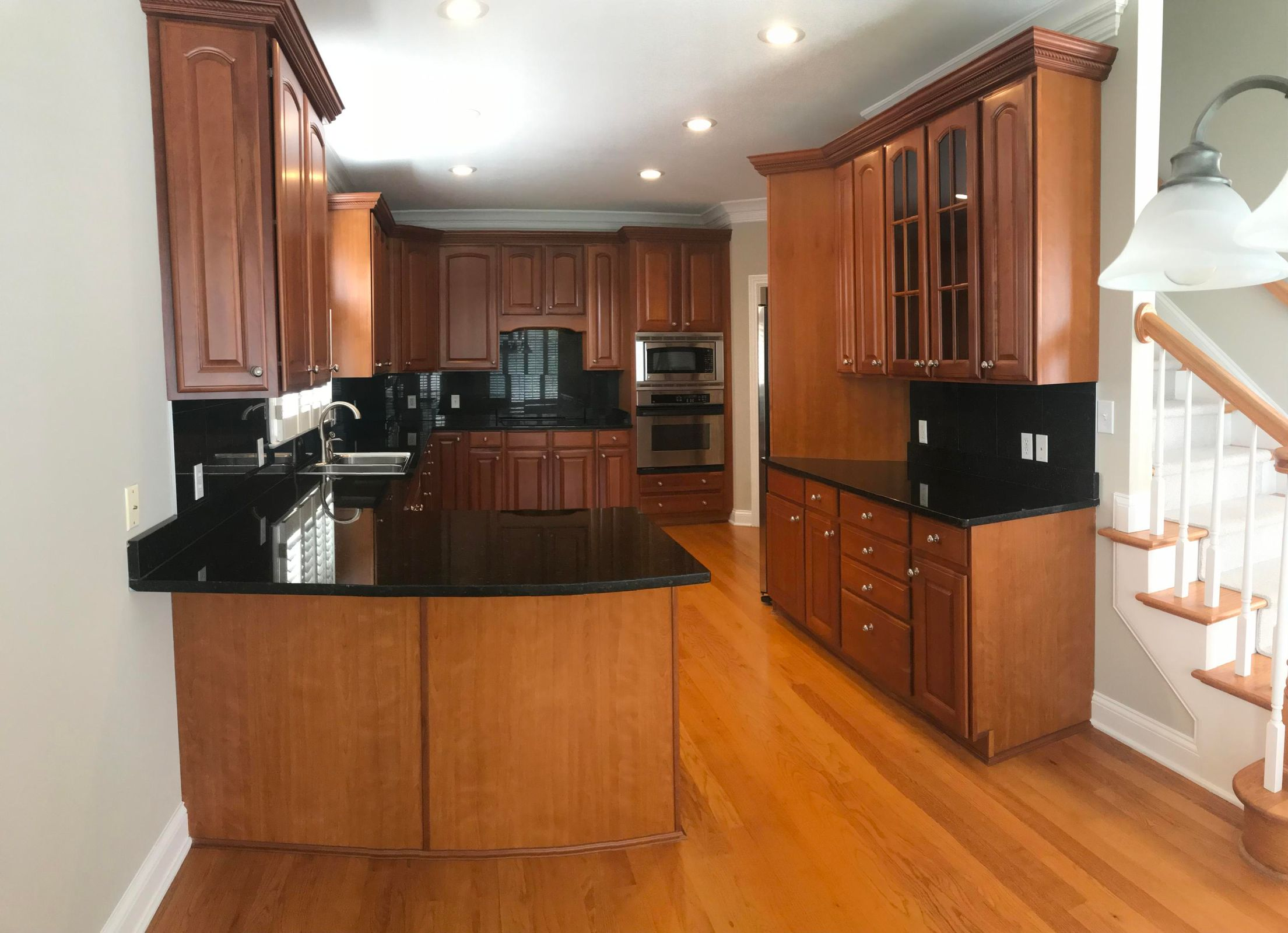 Cherry Cabinets/Granite Counters