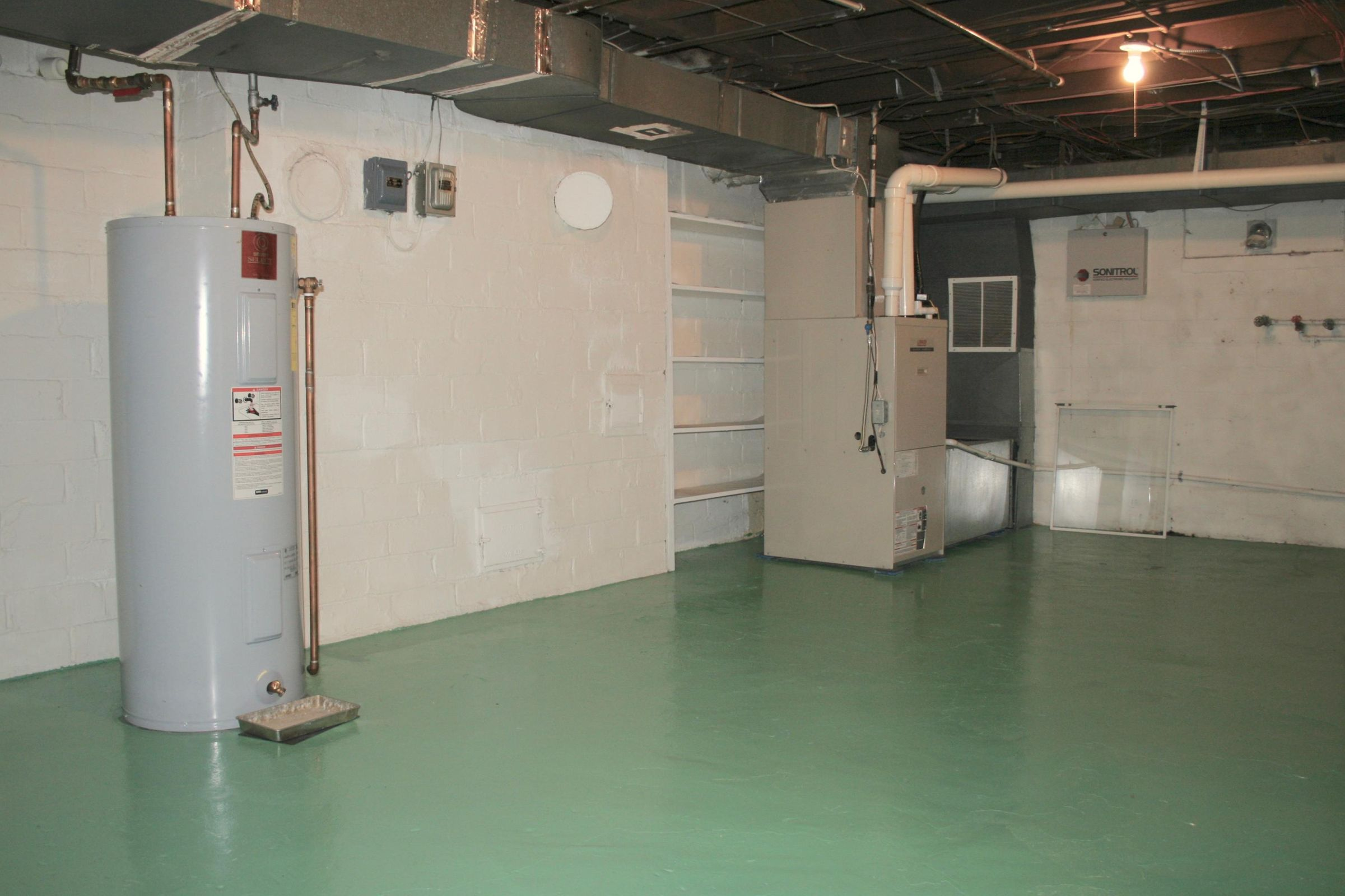 Lower Level Utility Room and Storage