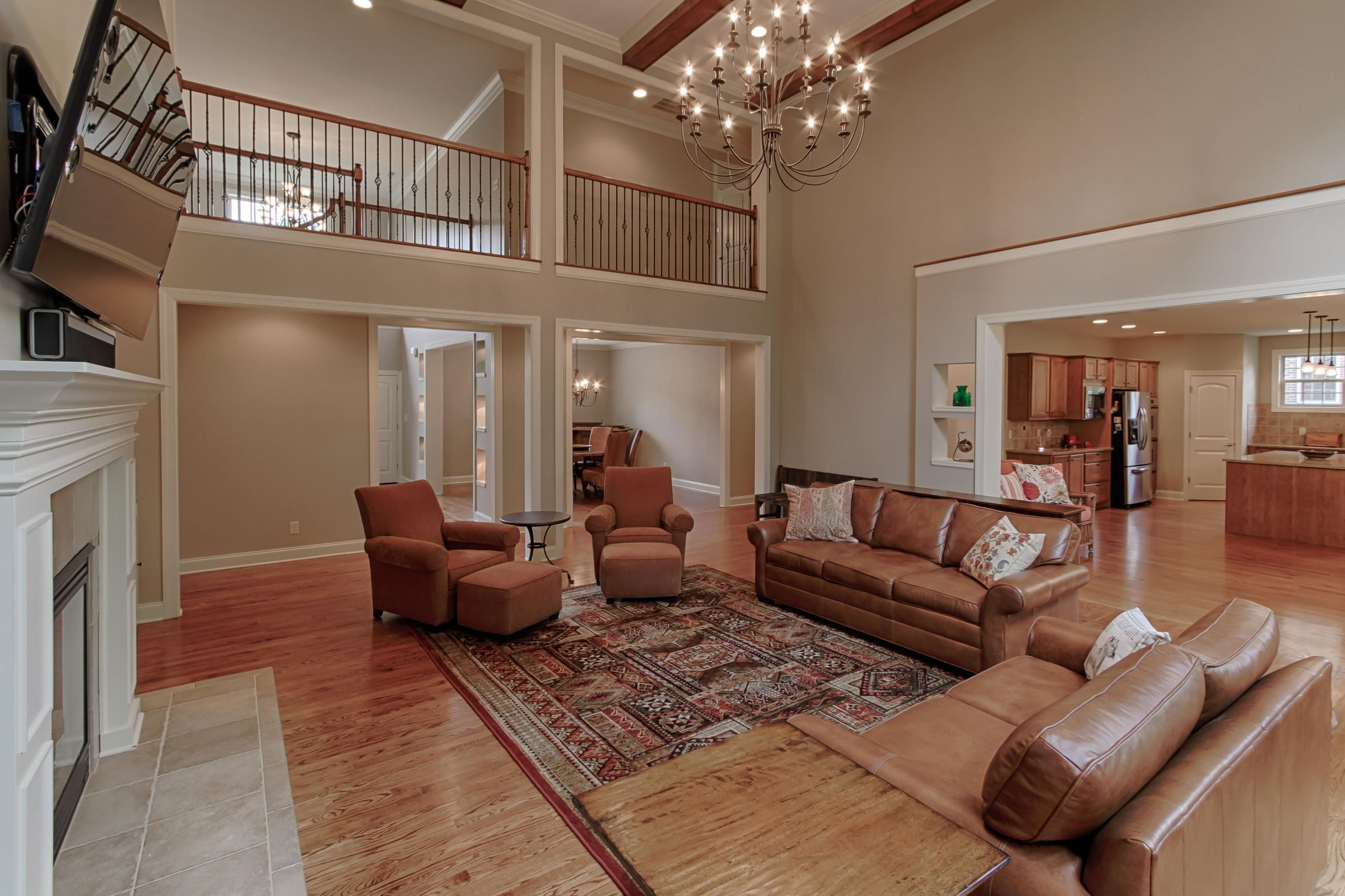 Living Room from fireplace