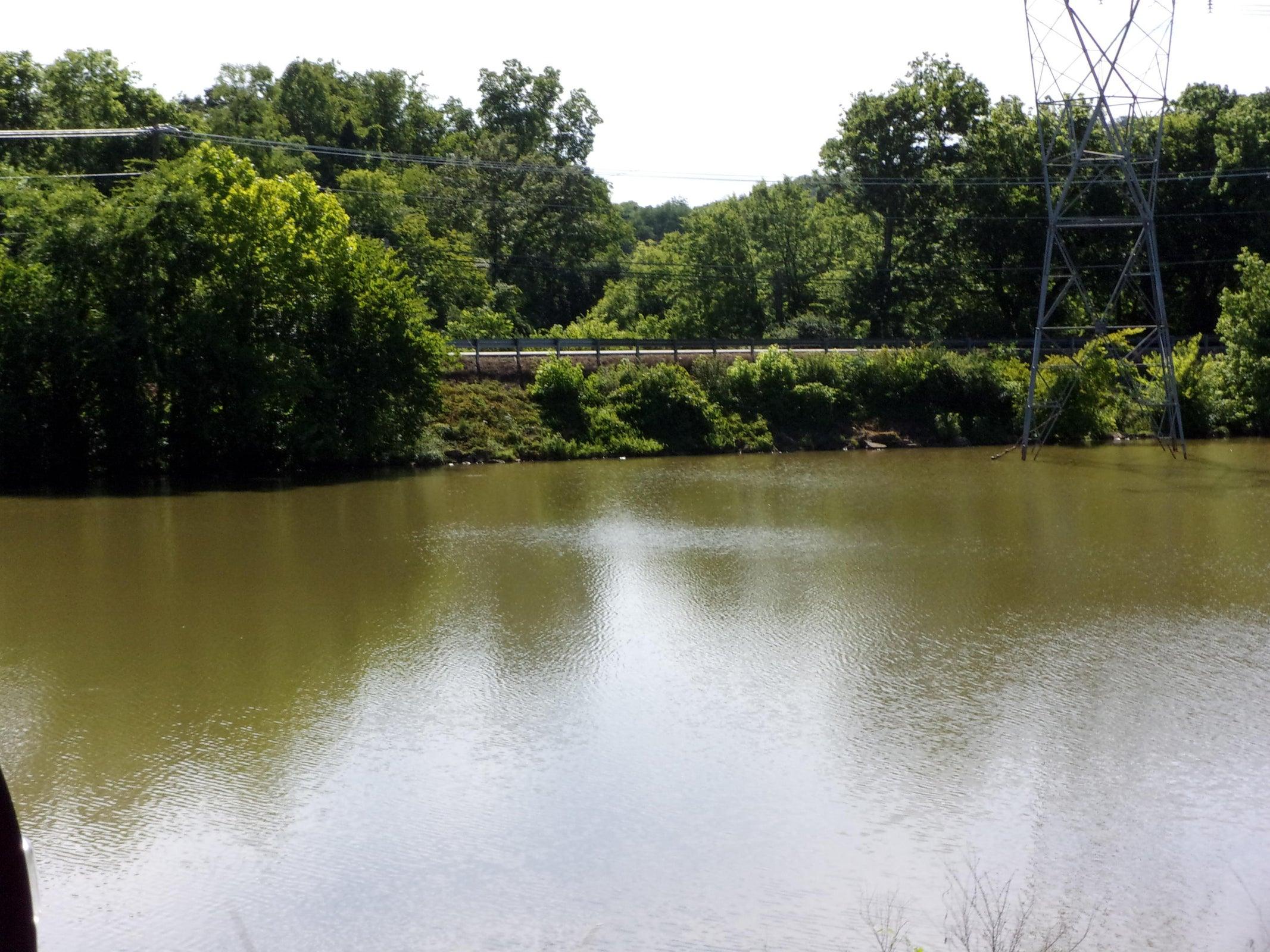 Little River across street