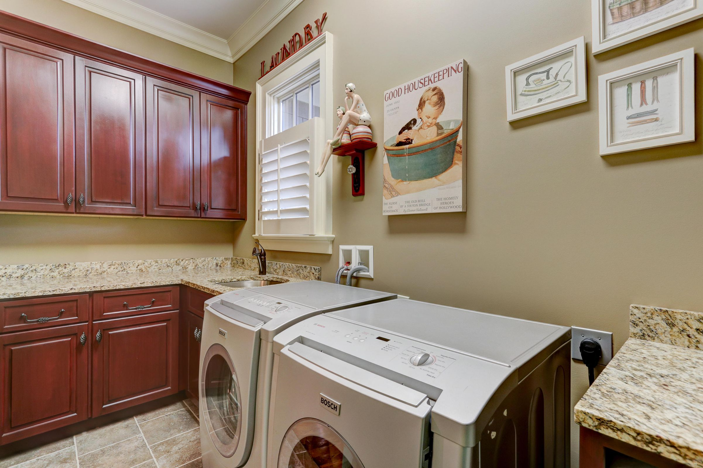 Laundry room main level