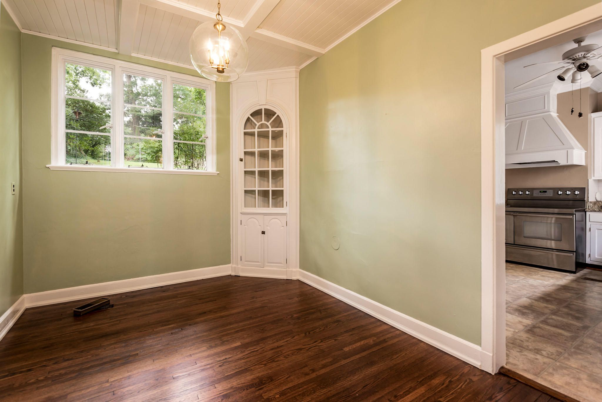 Breakfast Room w/ Built-ins