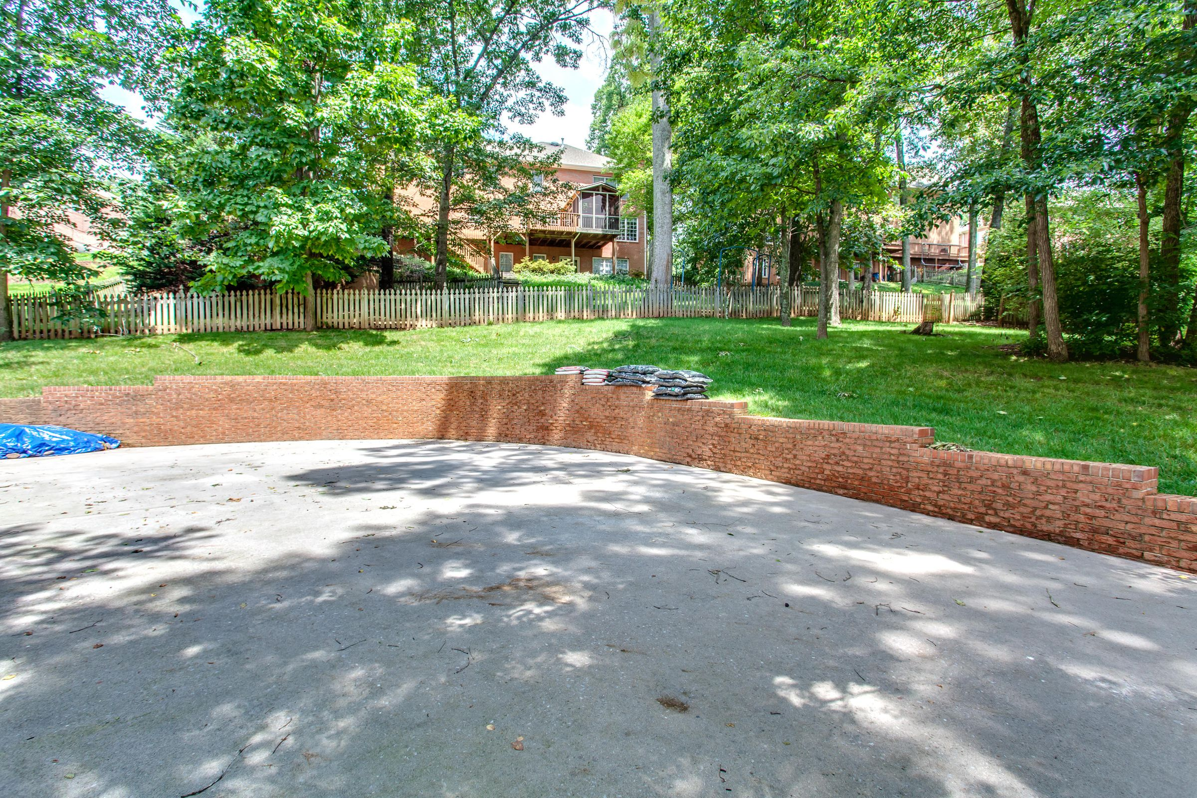 Extended Driveway