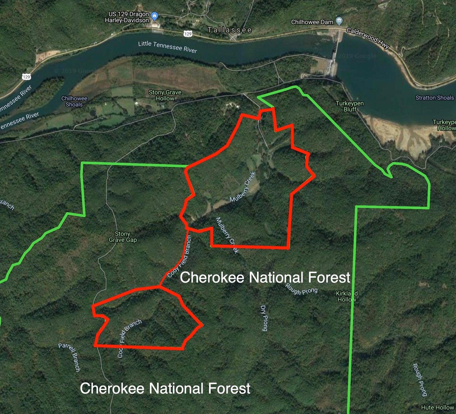 Aerial With Cherokke National Park2