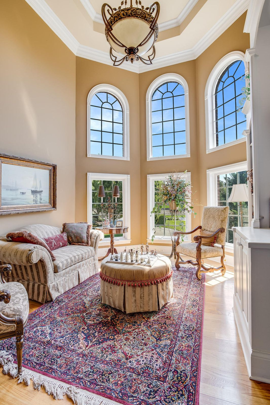 Walls of Windows in Great Room