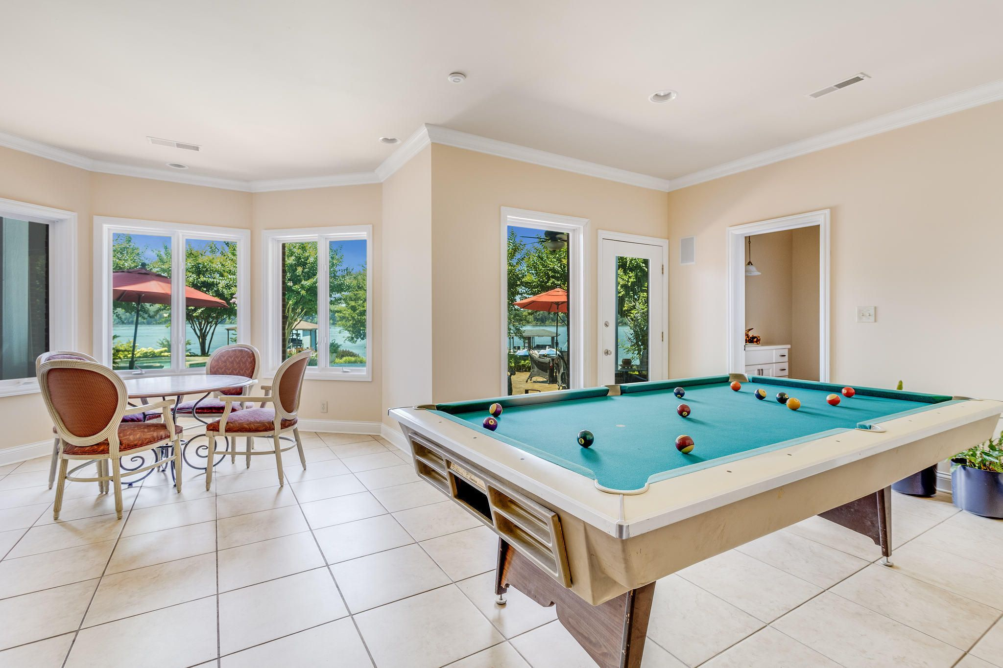 Lower Level Billiards/Game Area