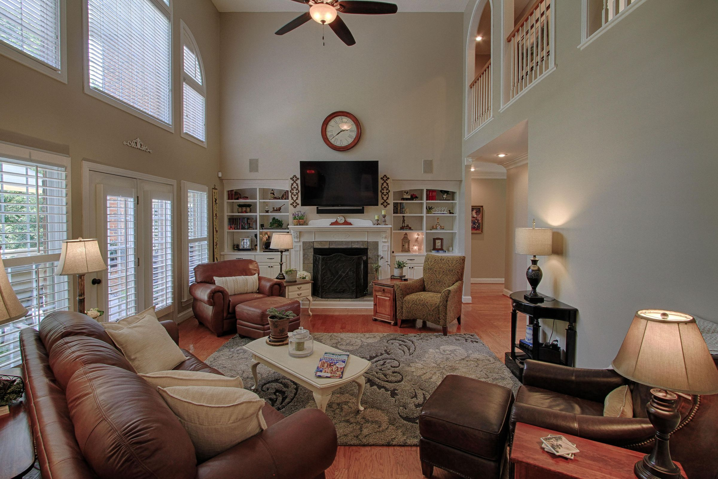 Warm Family Room