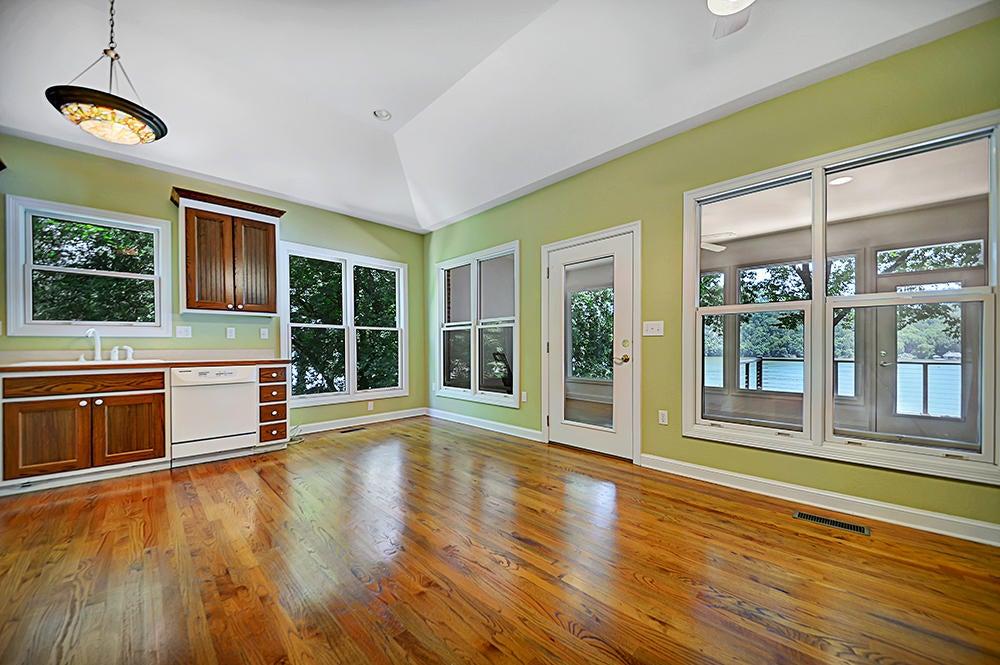 2nd Level Living Room w/ Lake Views
