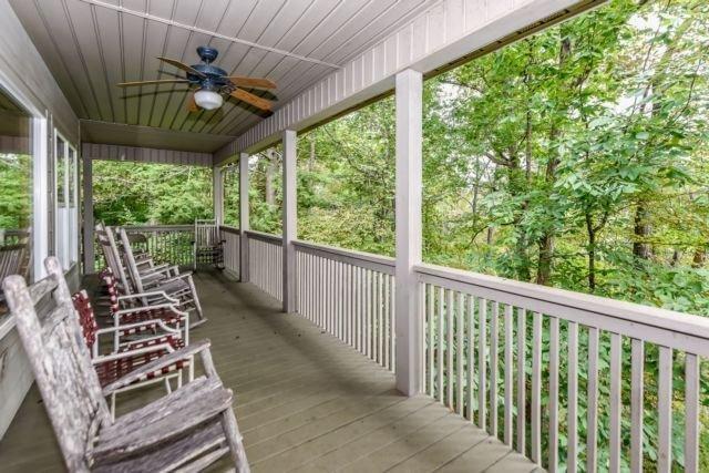 lodge upper porch