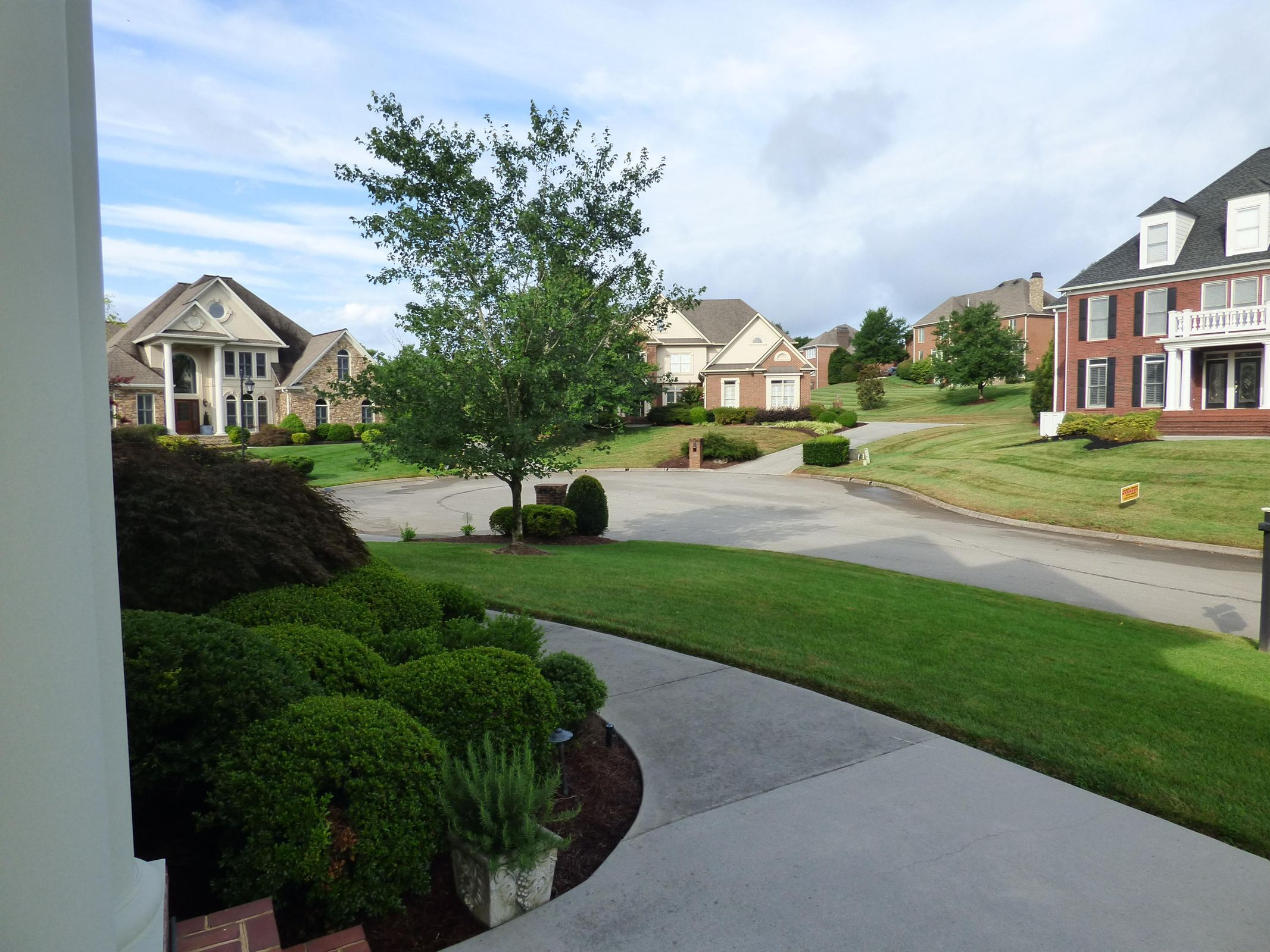 Cul-de-sac View from Front Porch