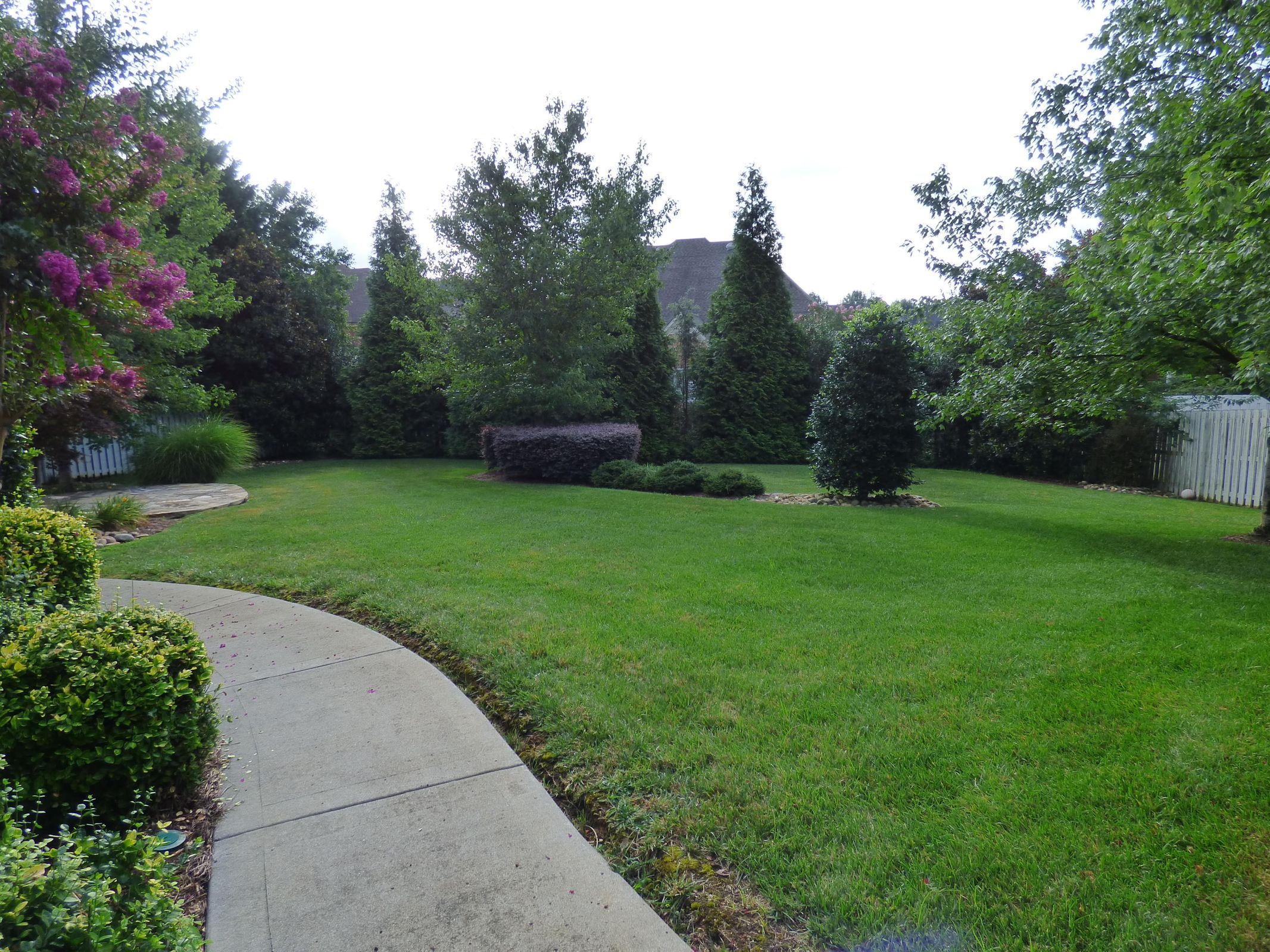 Private Fenced Back Yard