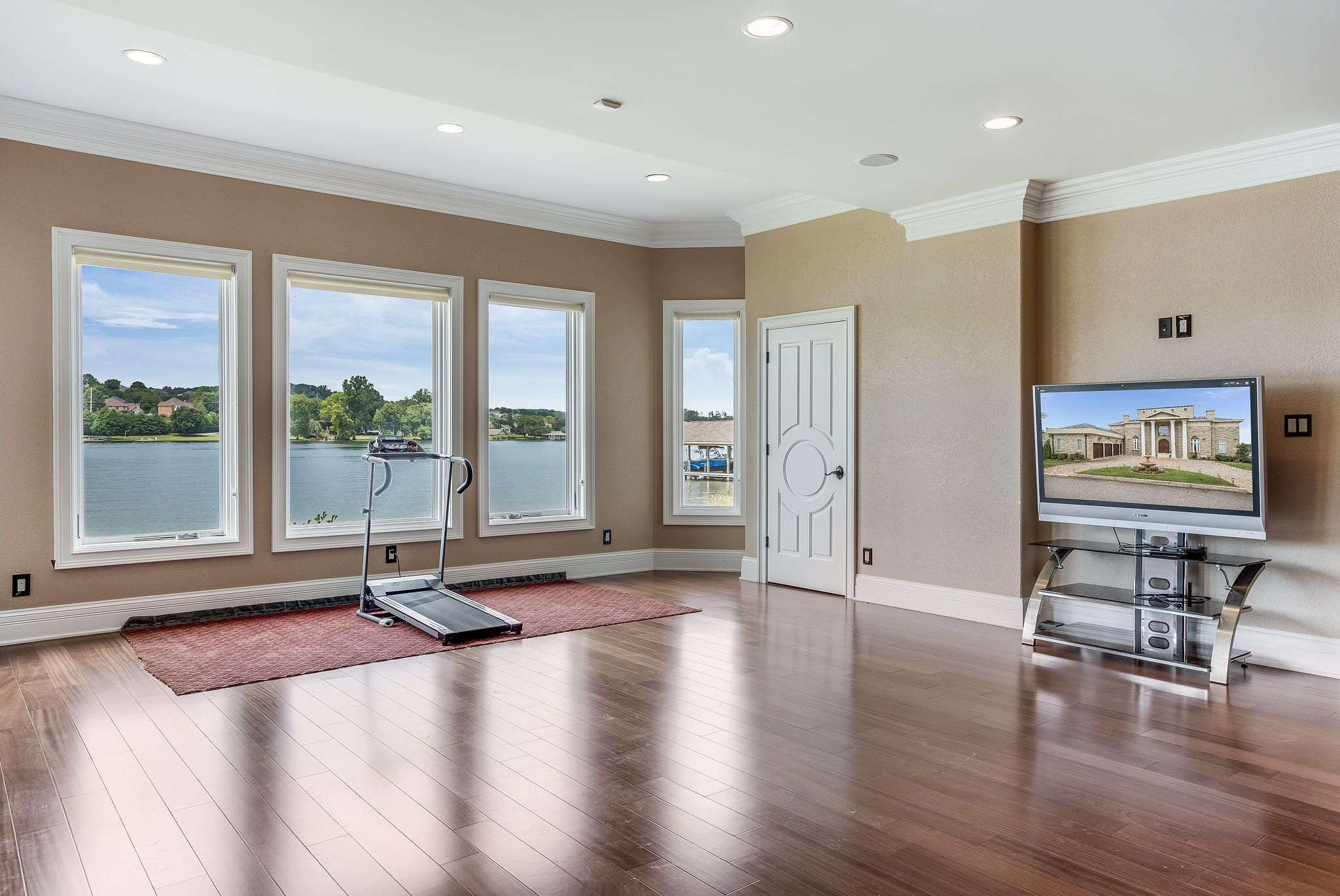 Lower Level Rec/Exercise Room