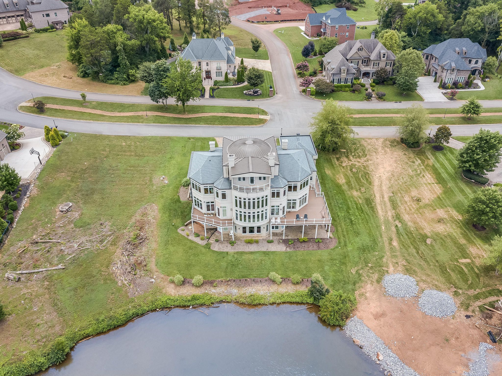 Aerial of Back of House
