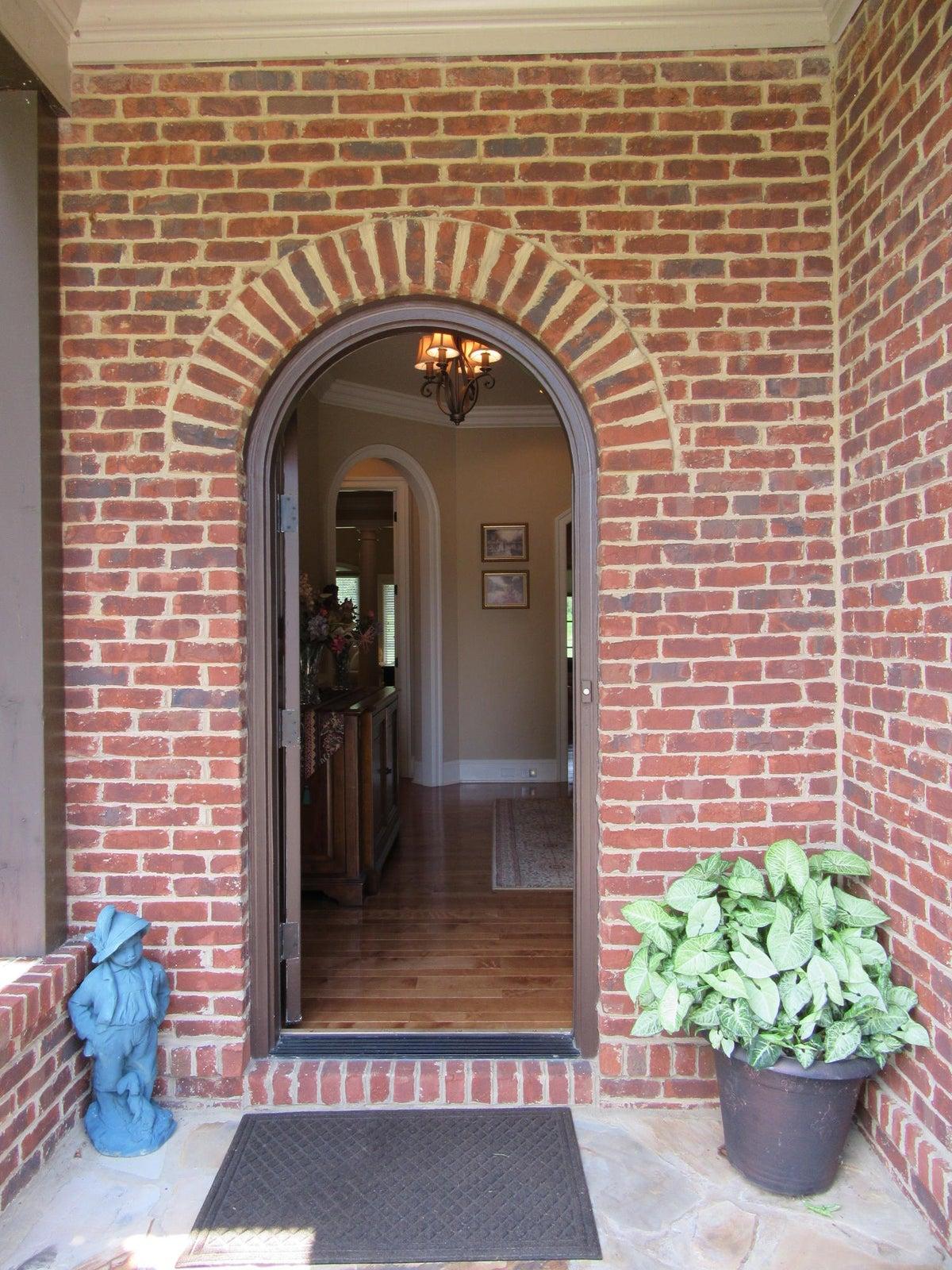 Beautiul brick entrance