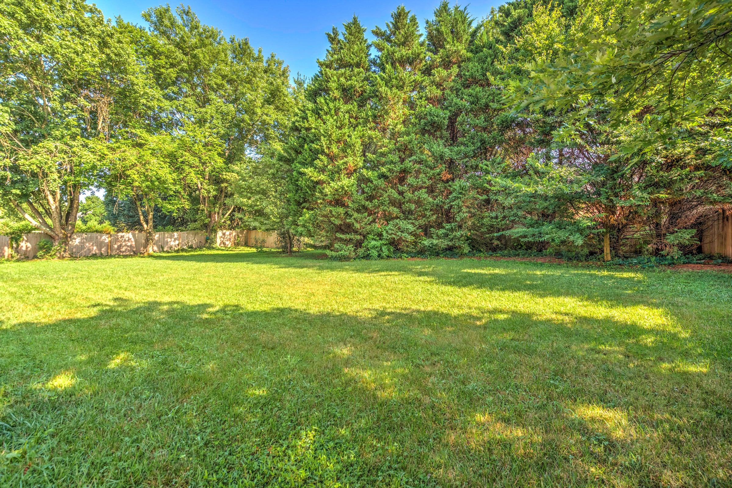 Flat Private Backyard