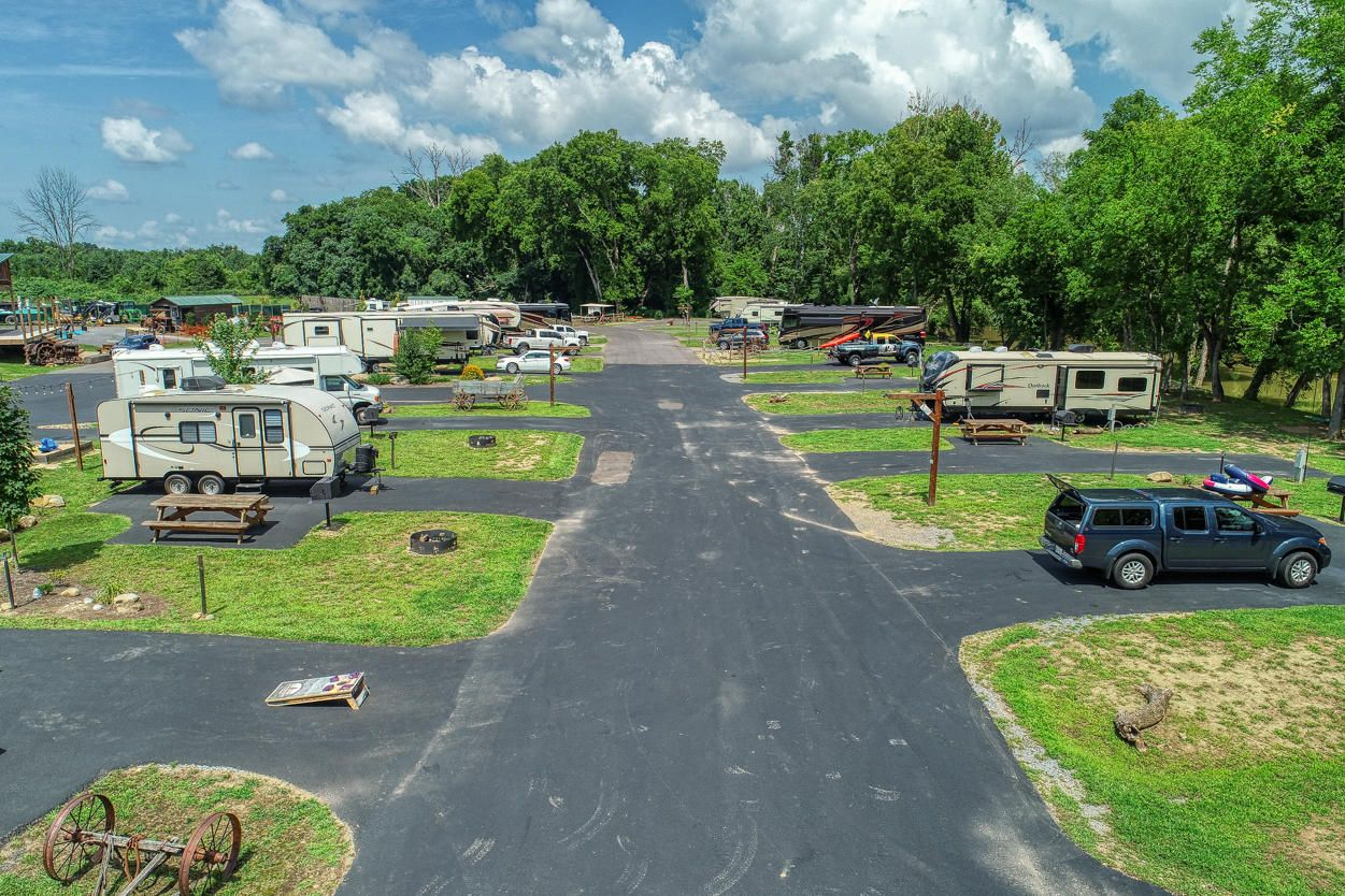 Campground Drone Photo 11
