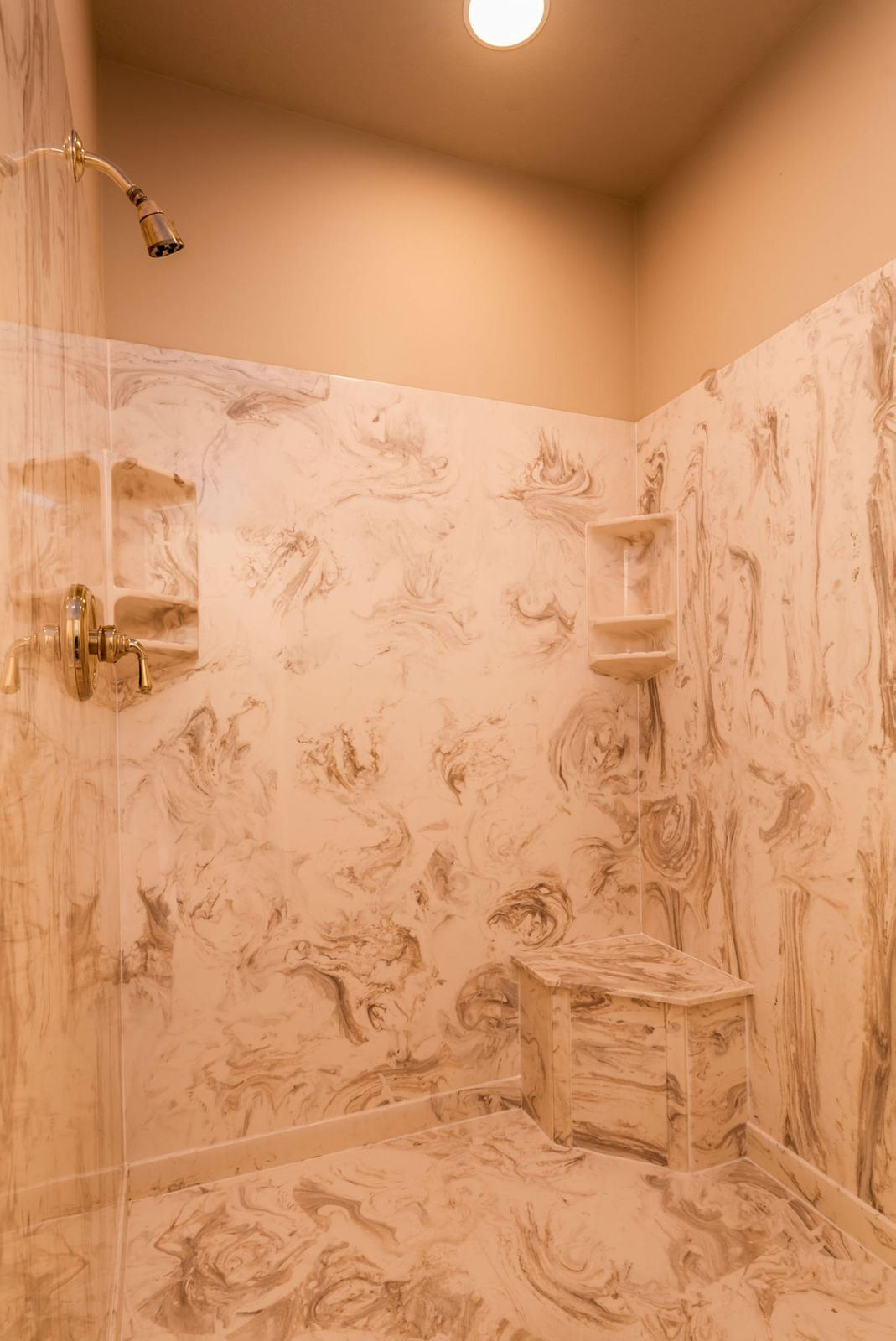 Master Bathroom Walk-in Shower