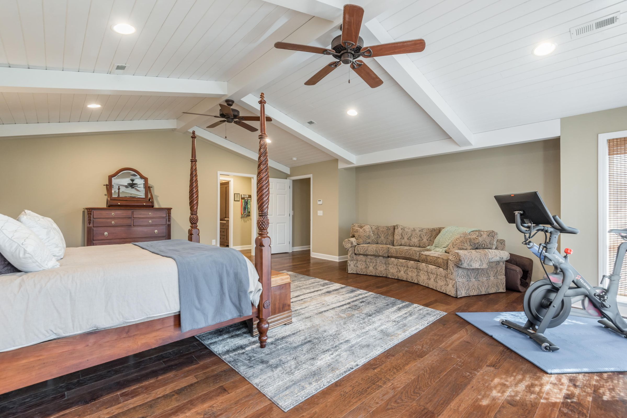 Master Suite with Cathedral Ceiling