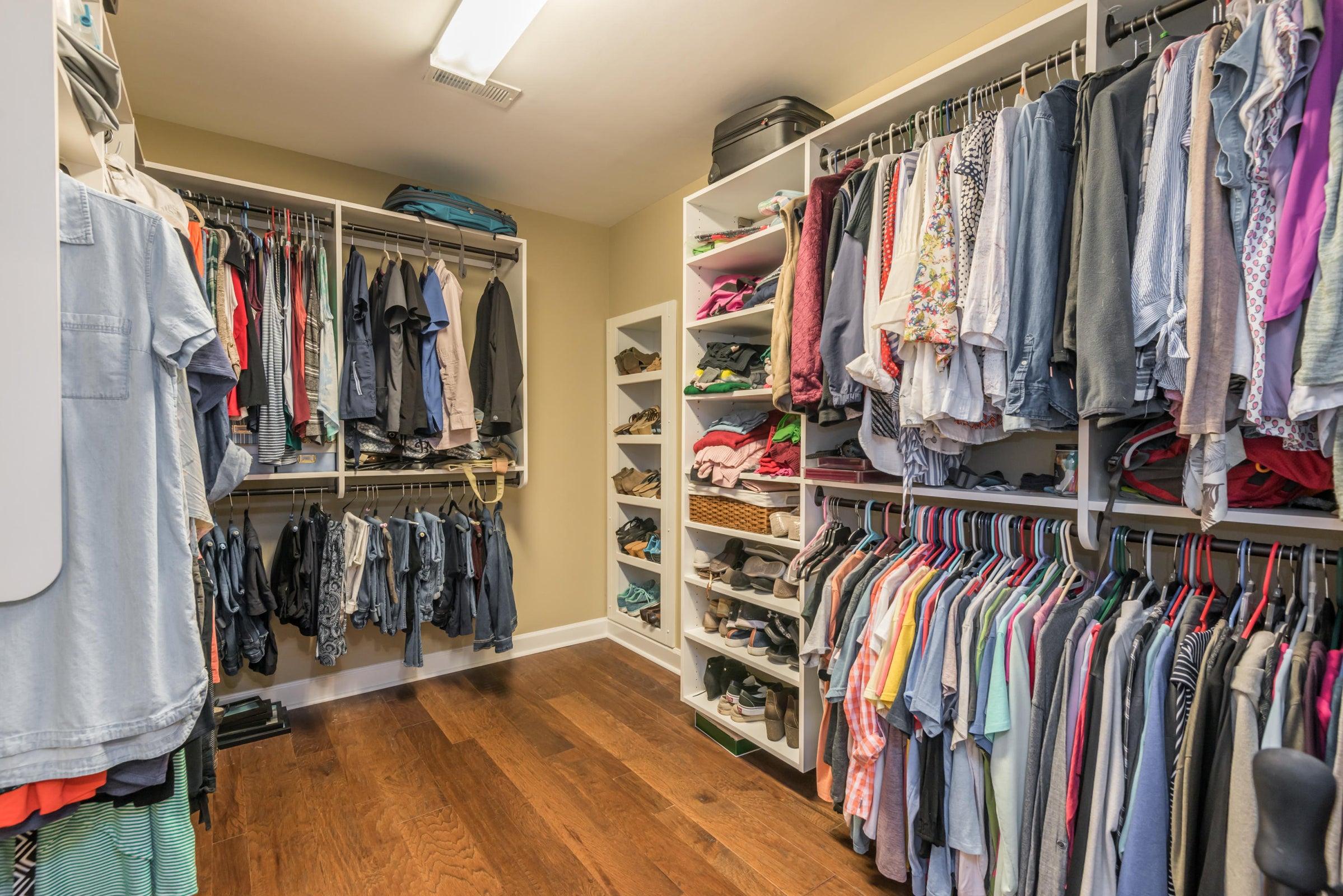 Large, Walk-In Master Closet