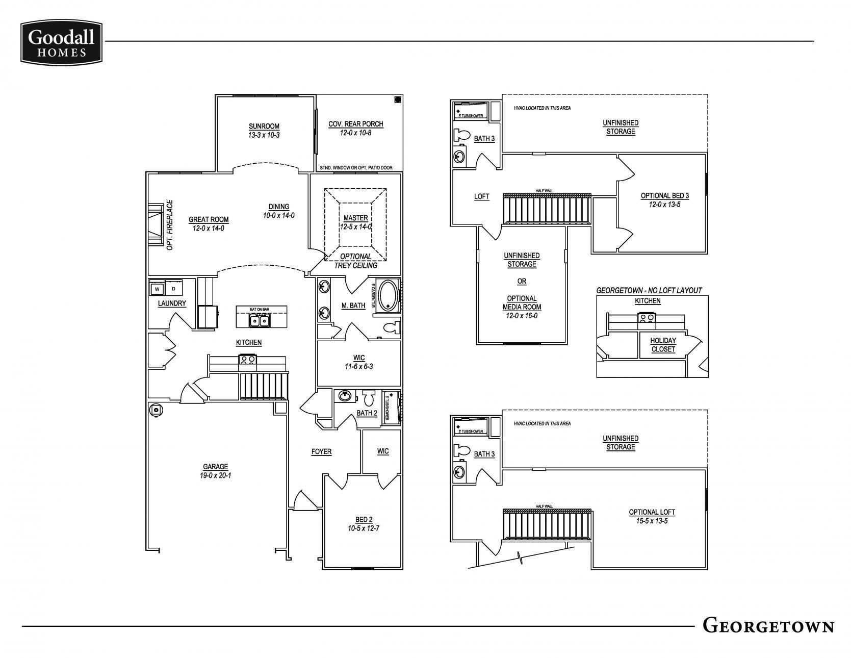 Georgetown Floor Plan