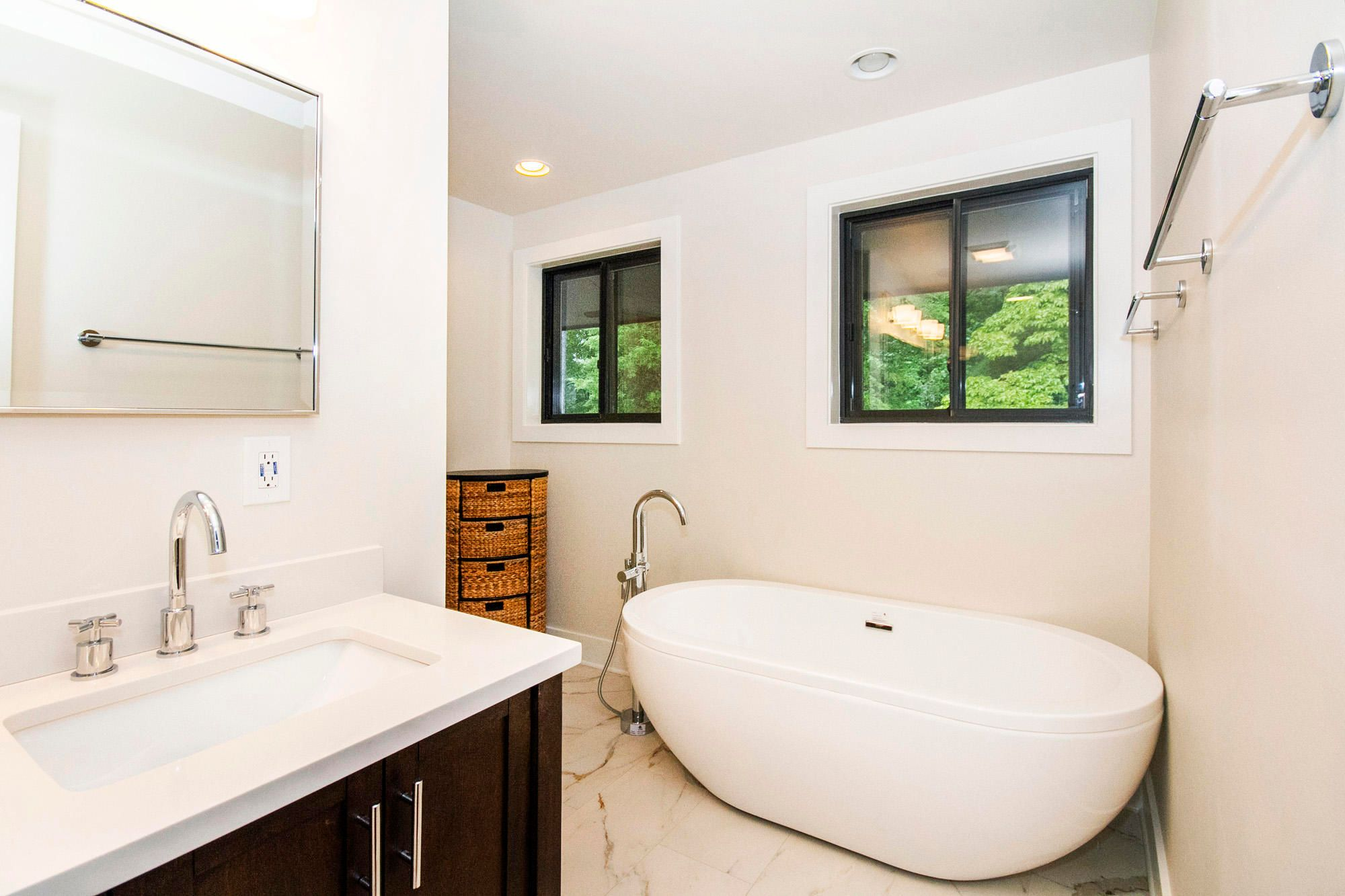 Soaker Tub Master Bath