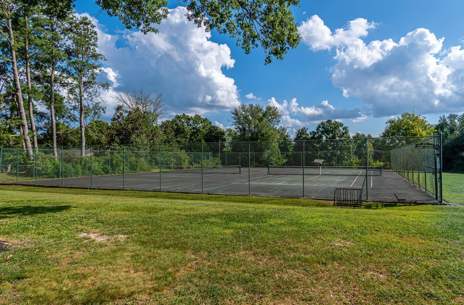 FIRST COMMUNITY TENNIS COURT OF 2