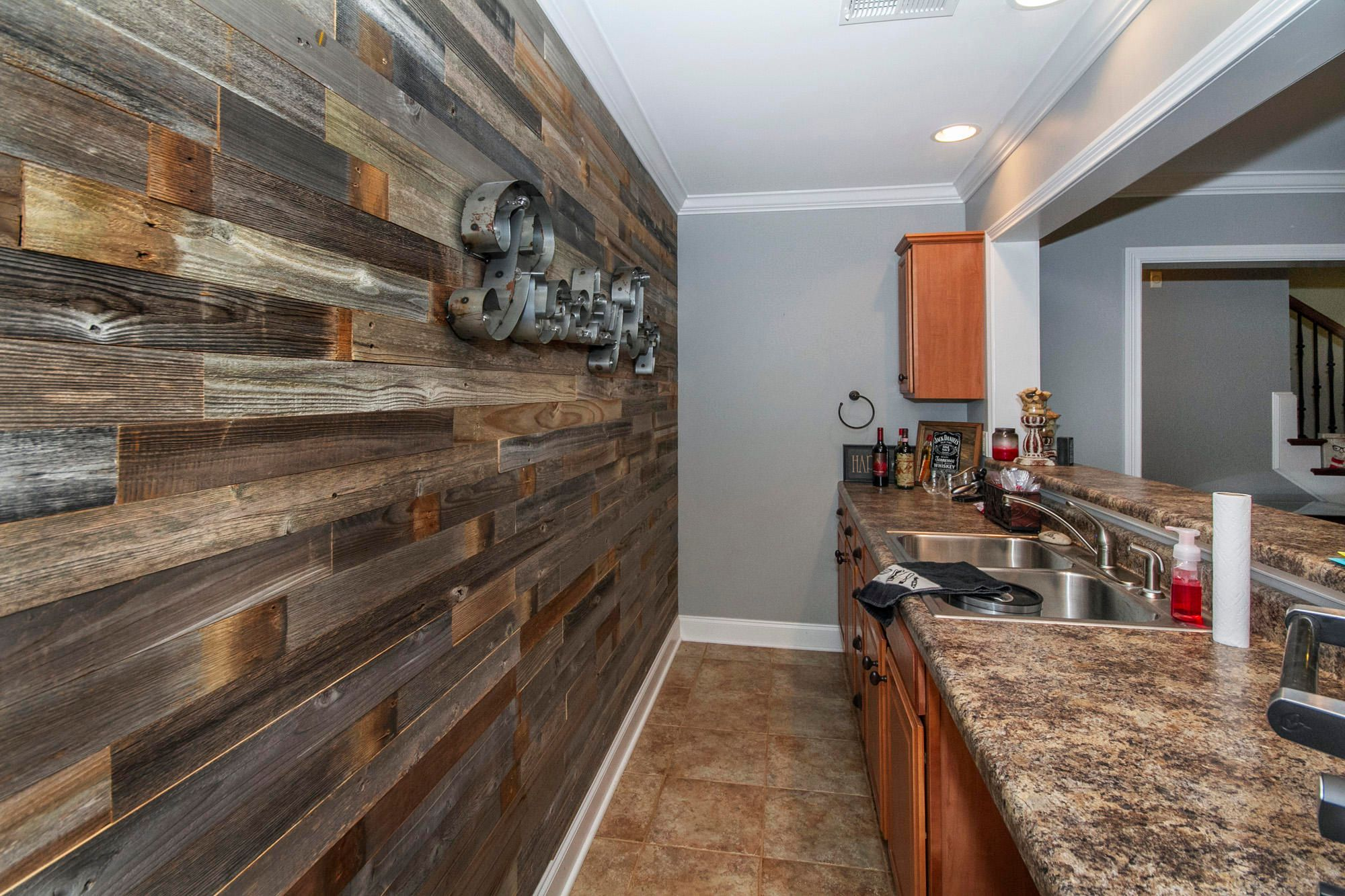 Recreation Room Wet Bar