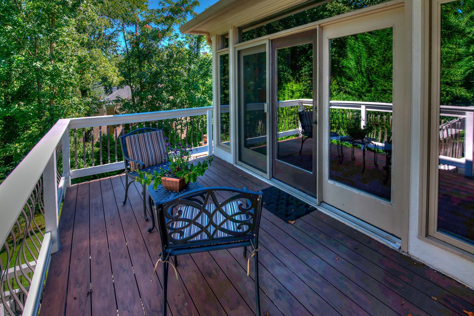 Ext Deck off Kitchen East