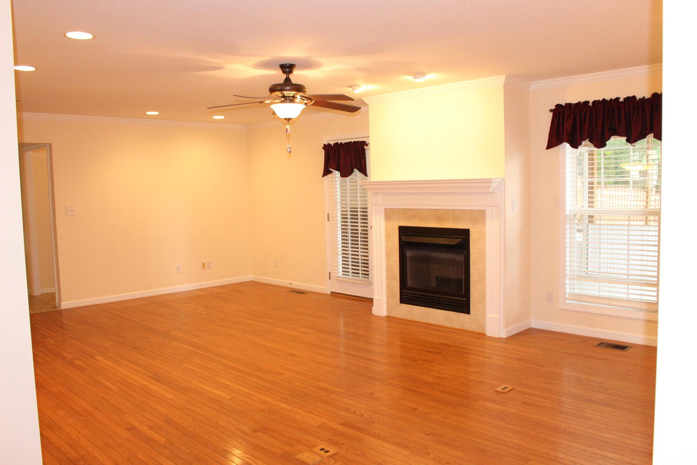 Empty Family Room