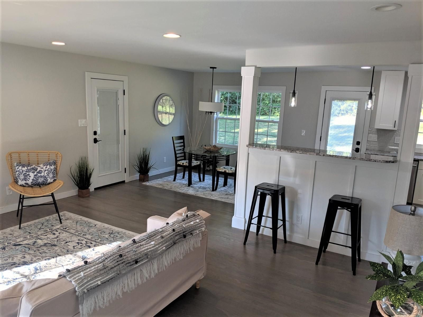 Dining/Kitchen/Living