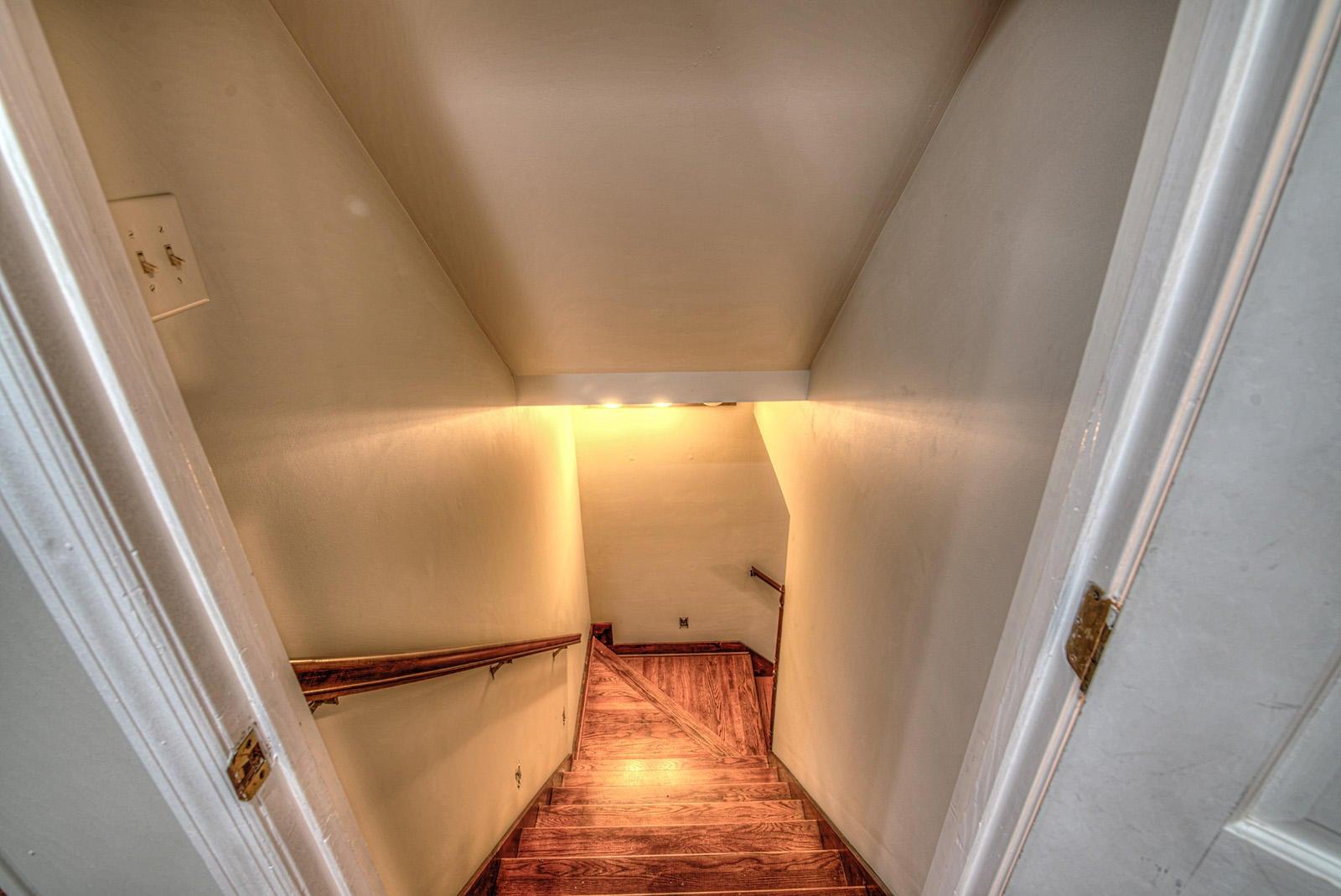 2nd FL Stairway Down