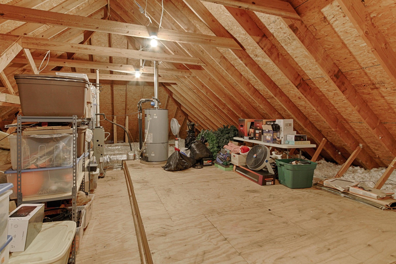 walk up attic storage