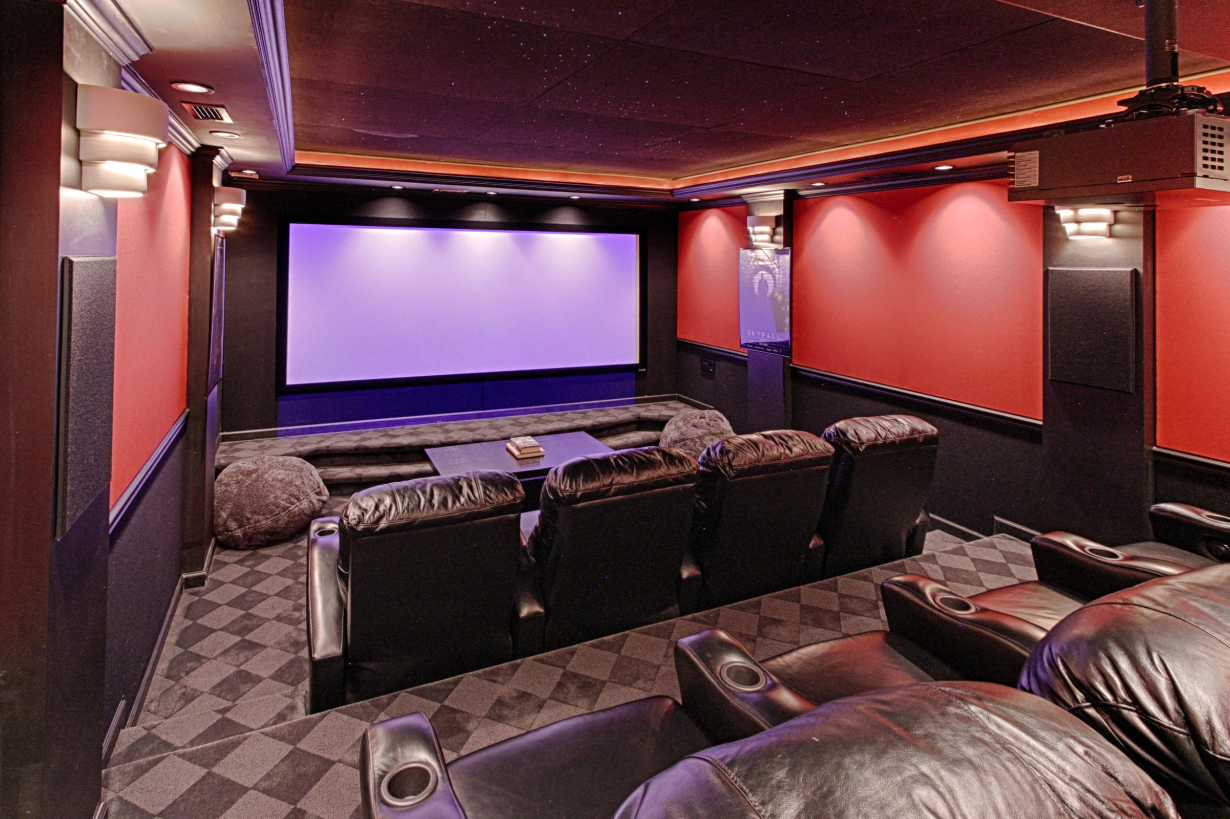 Theater Room Lower Level